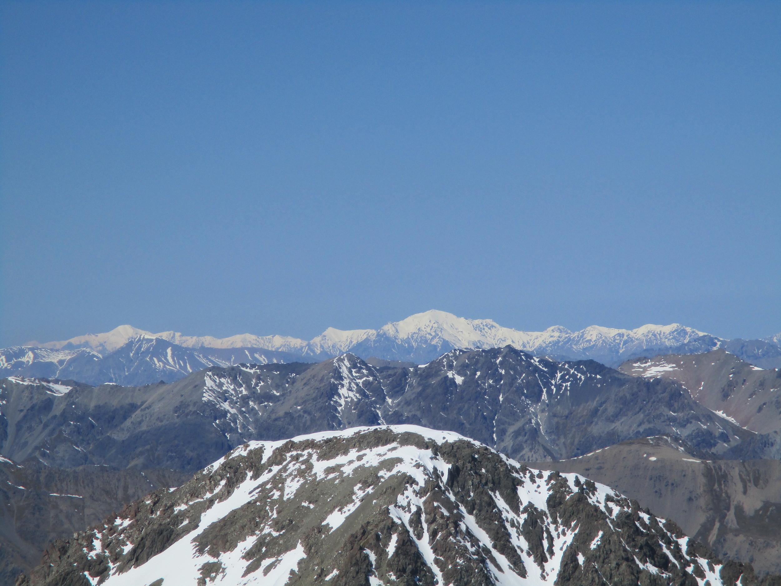 Seaward Kaikoura mountains from Chittenden