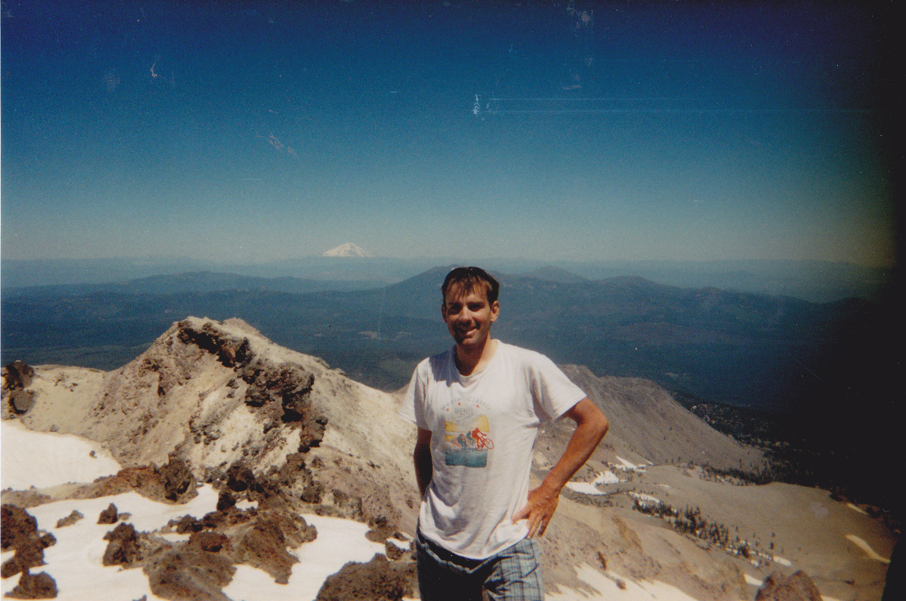 Early Velo Mountaineering mission up Mount Lassen 3190m in California during year 2000