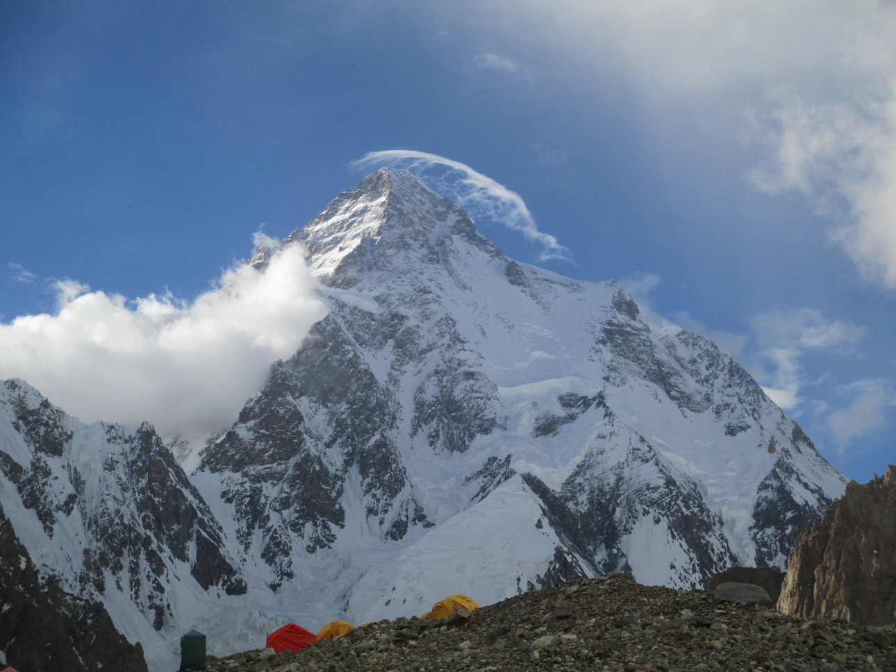 Cloud Dragon over K2