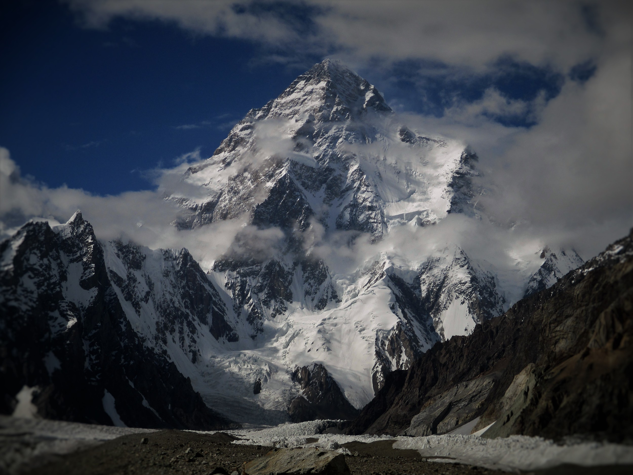 K2 - Mountain of Mountains ( from Broad Peak Base camp)