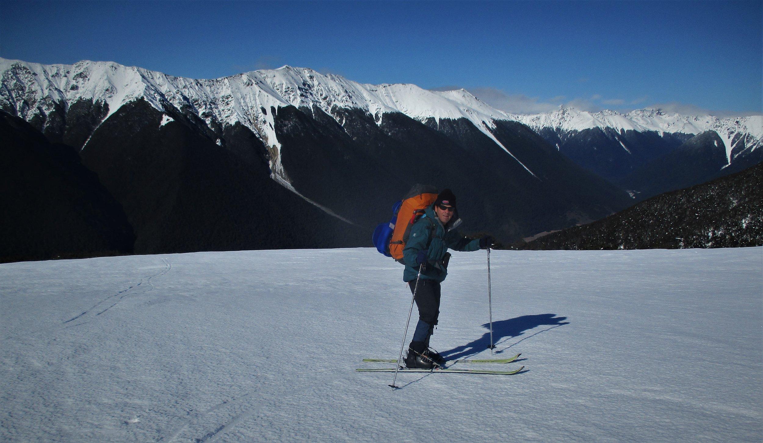 Ski touring , Nelson lakes