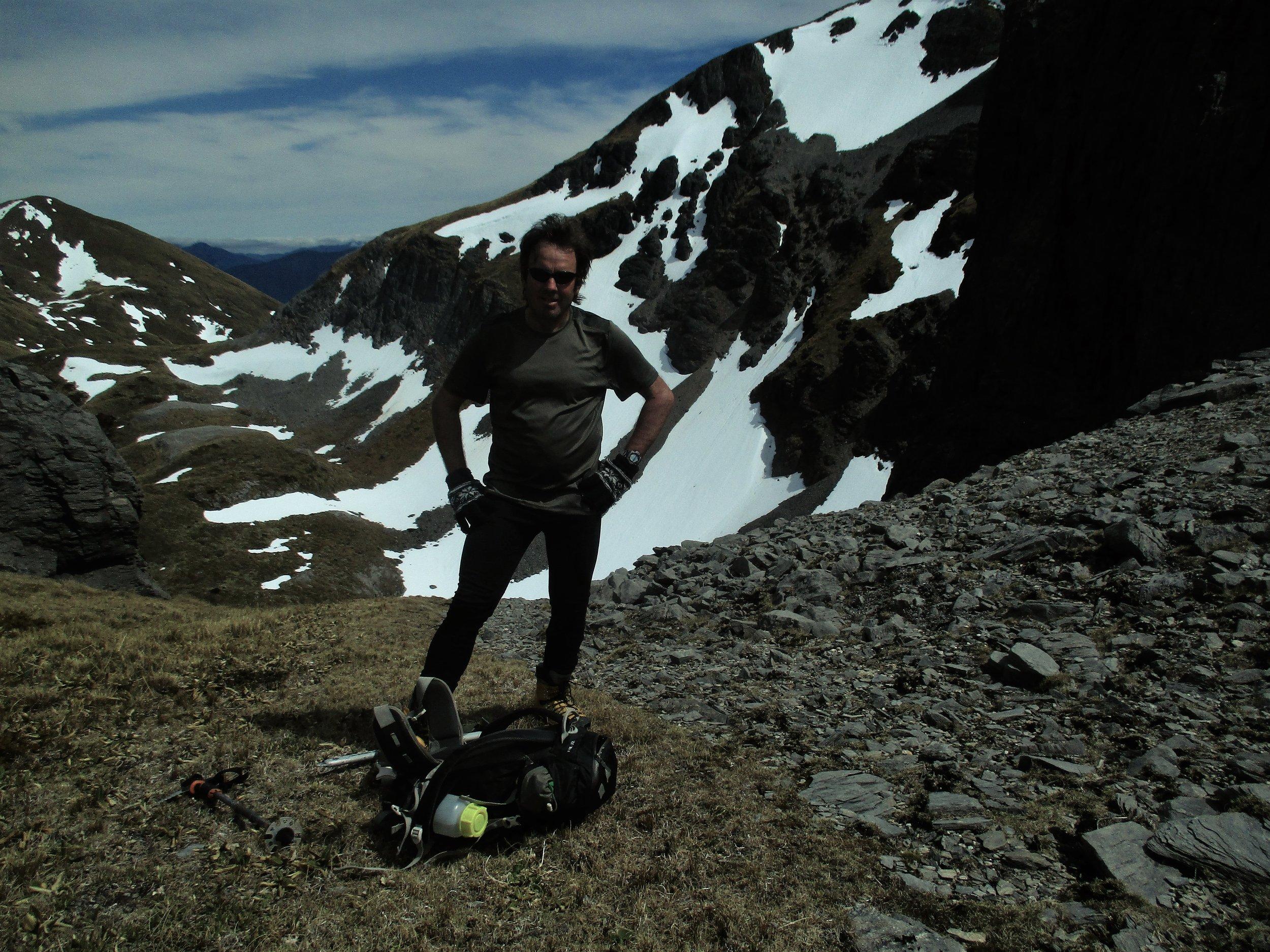 Nice day on Arthur range