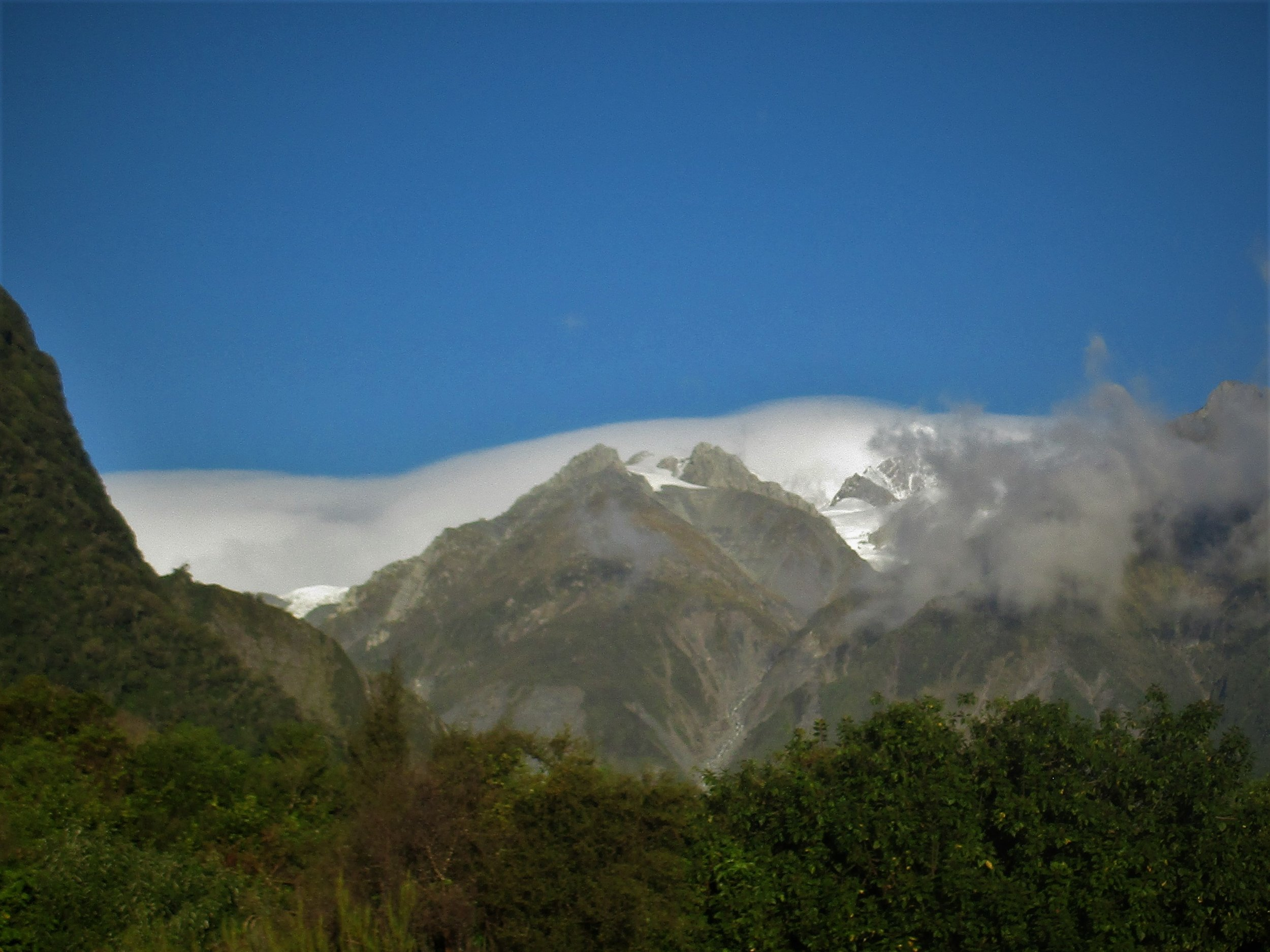 The Southern alps from the West Coast