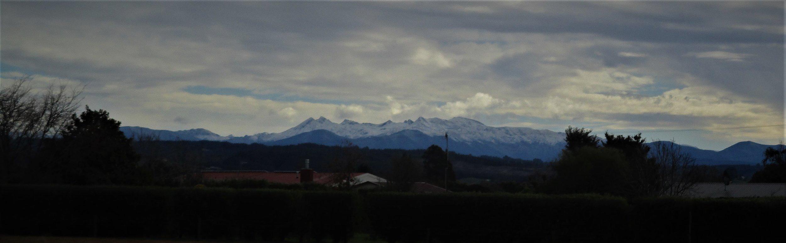 Winter on the Arthur range.