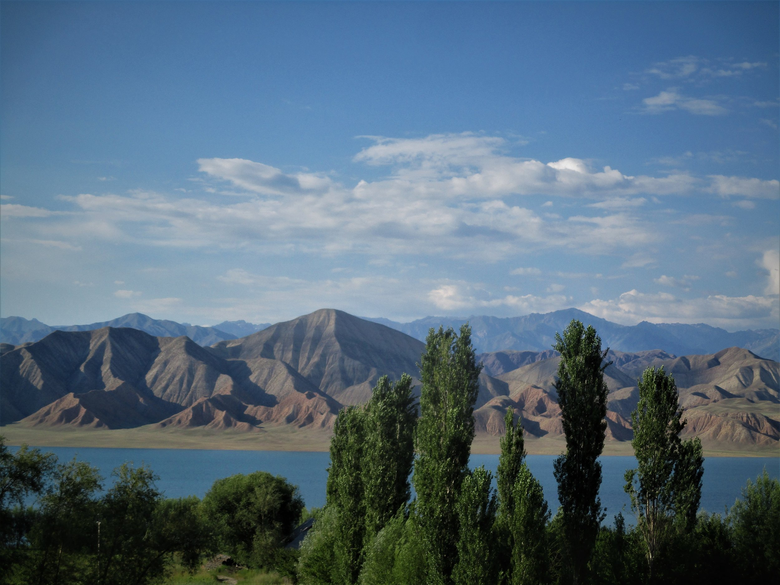 and finally lakes