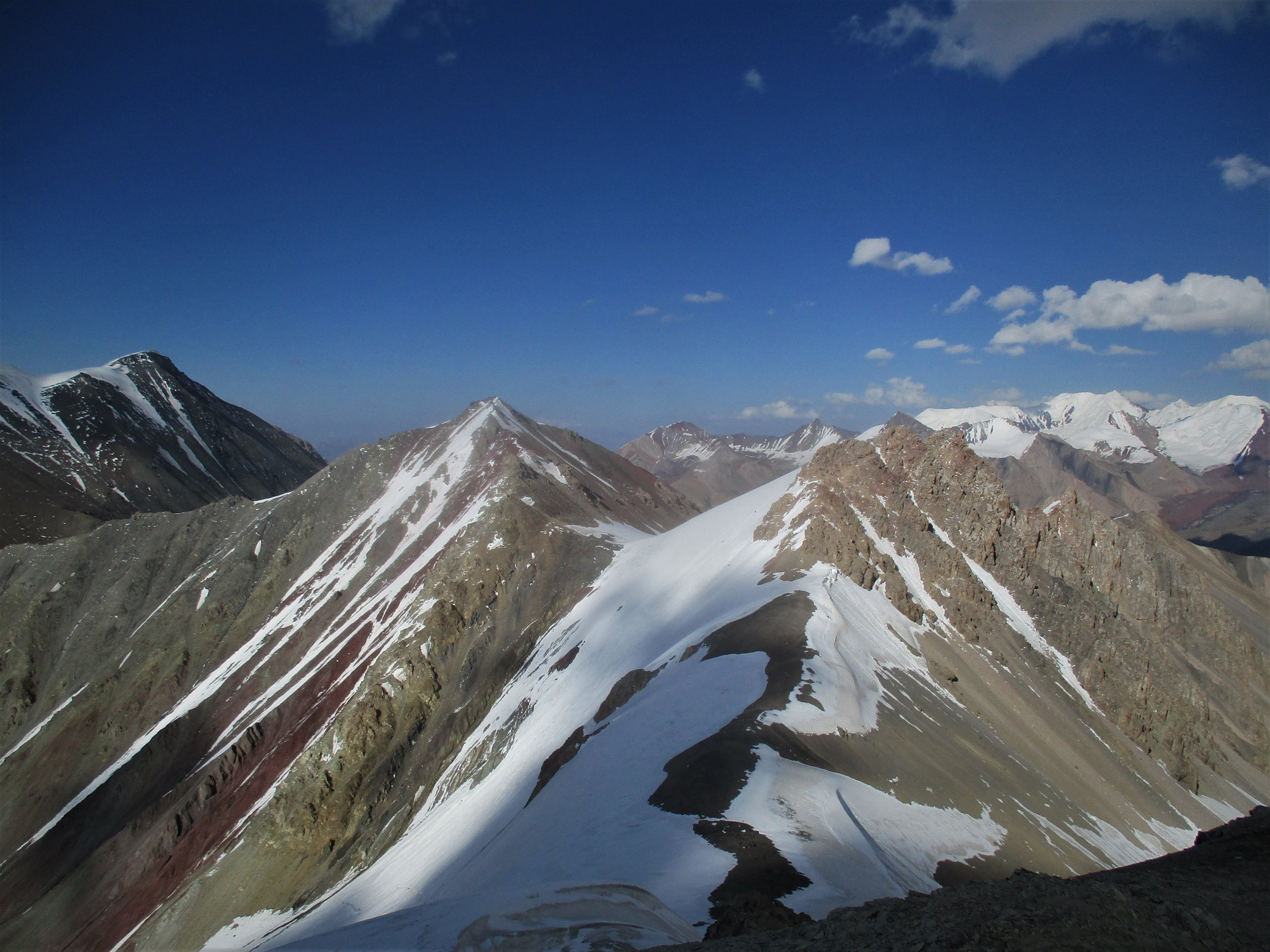 Northern view from 4695m