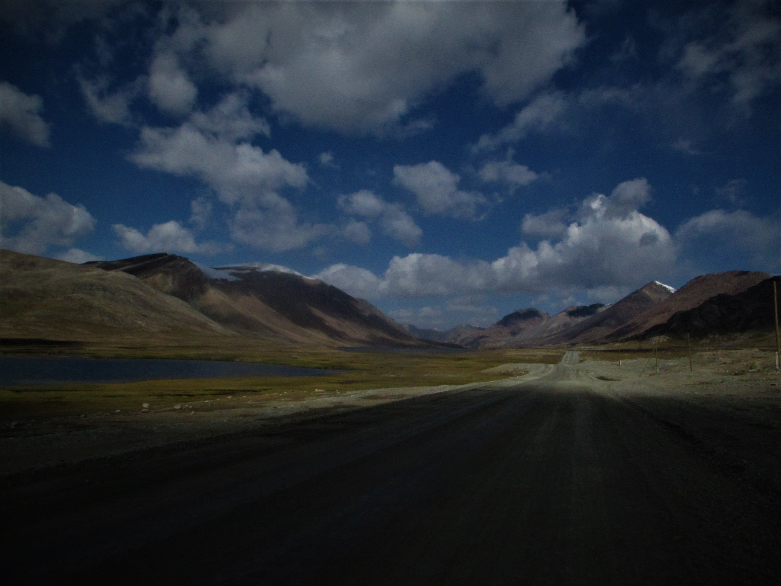The Tibetian like plateau above the Barskoon on the way to the Suek  pass.