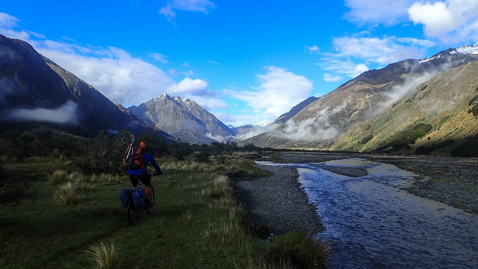 Acess to the river valleys - by bike!!