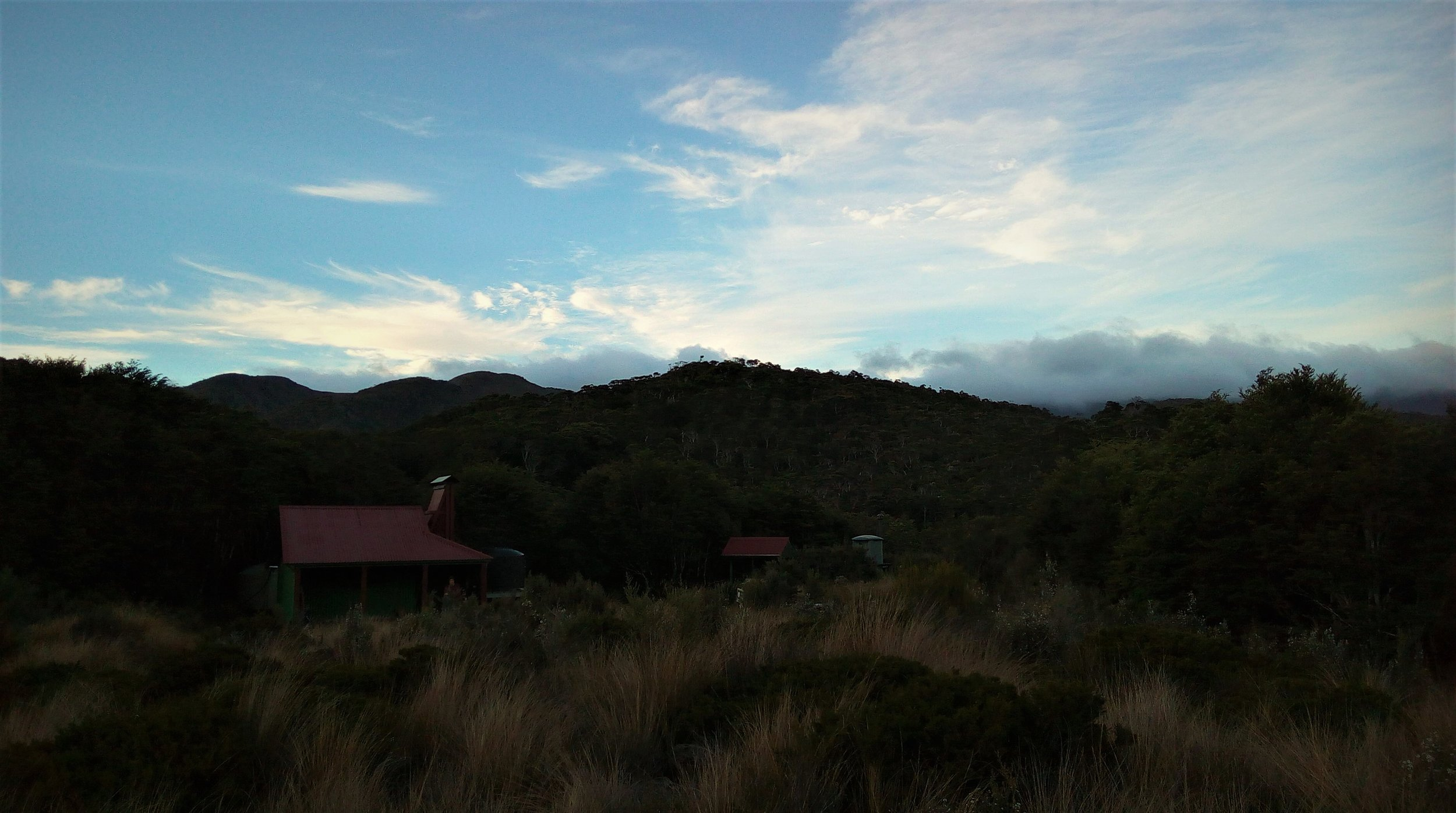Whilst most of the huts are modern lodges , Gouland Downs hut remains a piece of history.