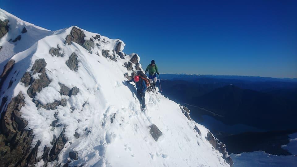Not the place to slide , Lake Rotorua far below.