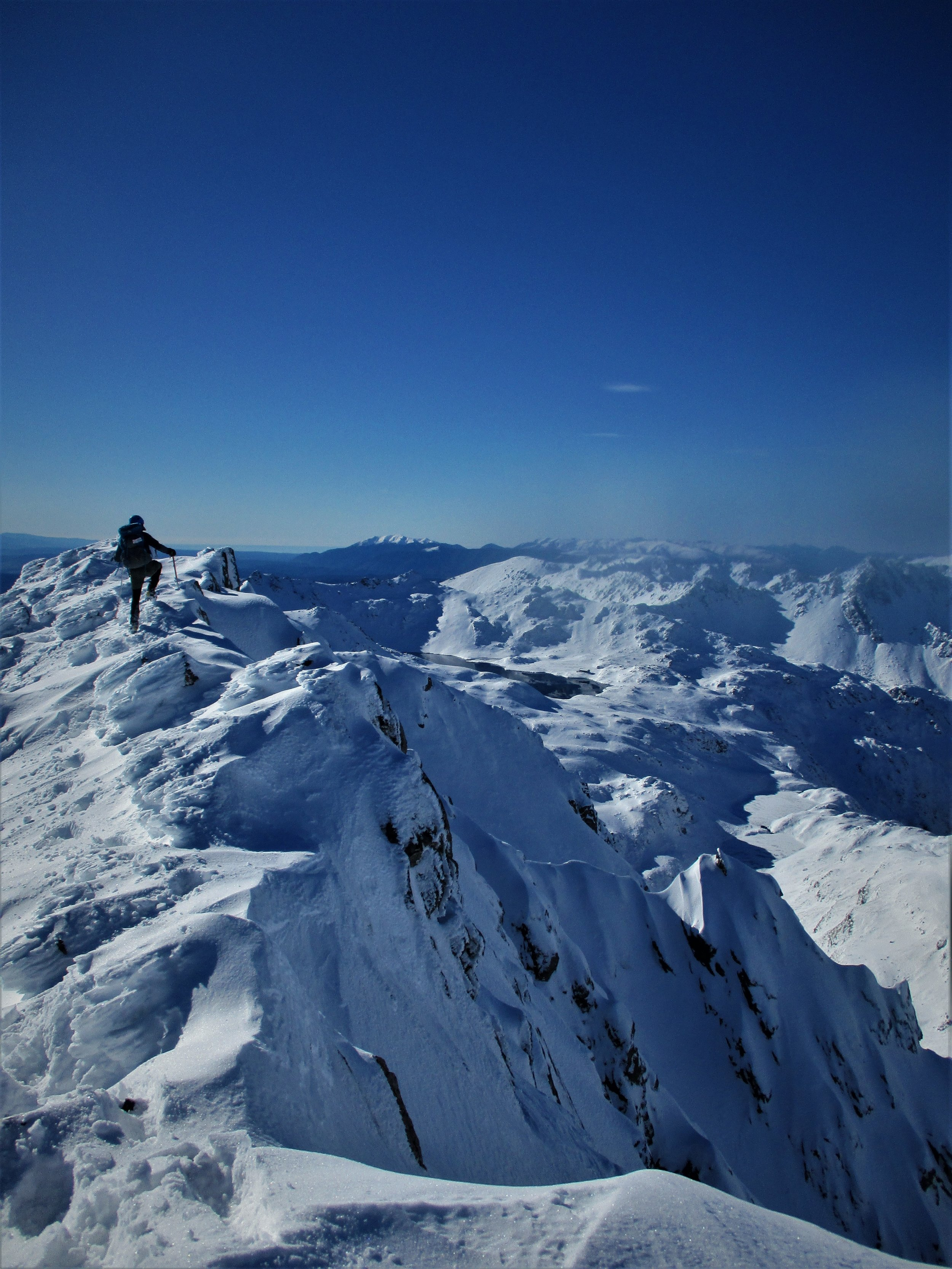 A fine ridge