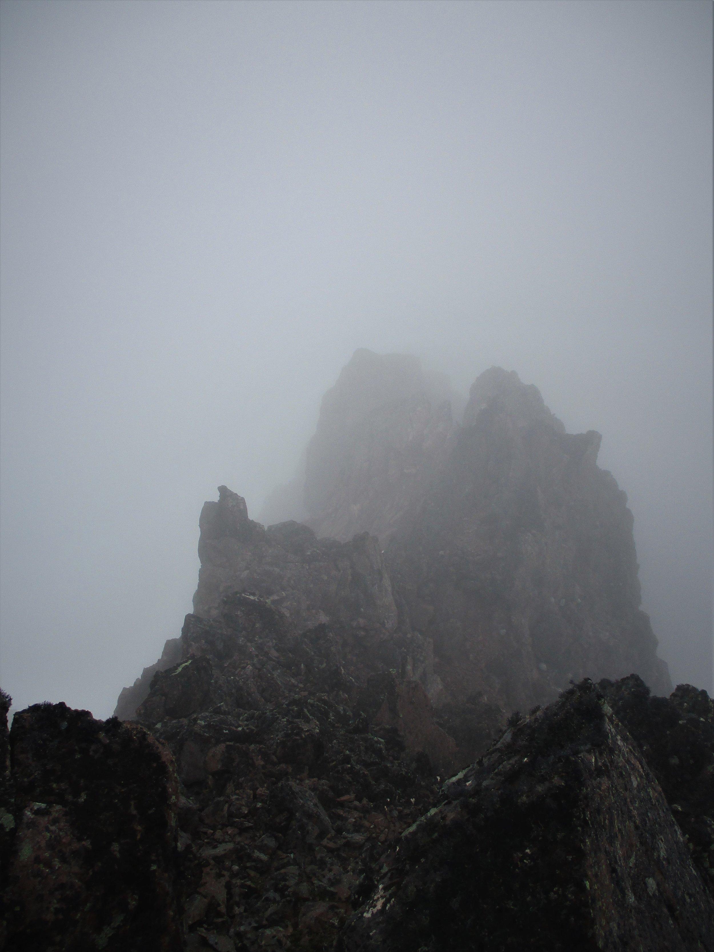 Summit pinnacles