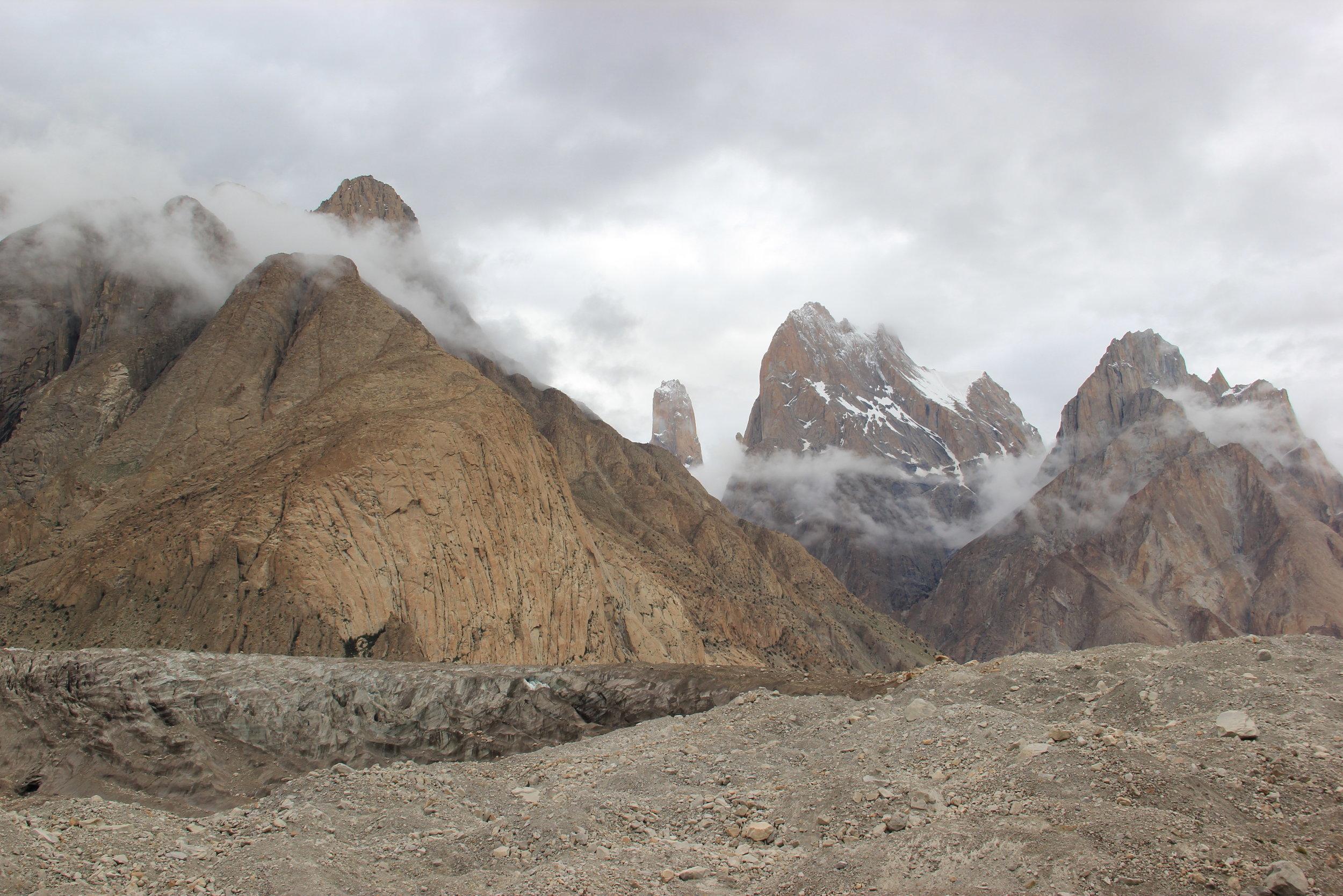 the Trango towers