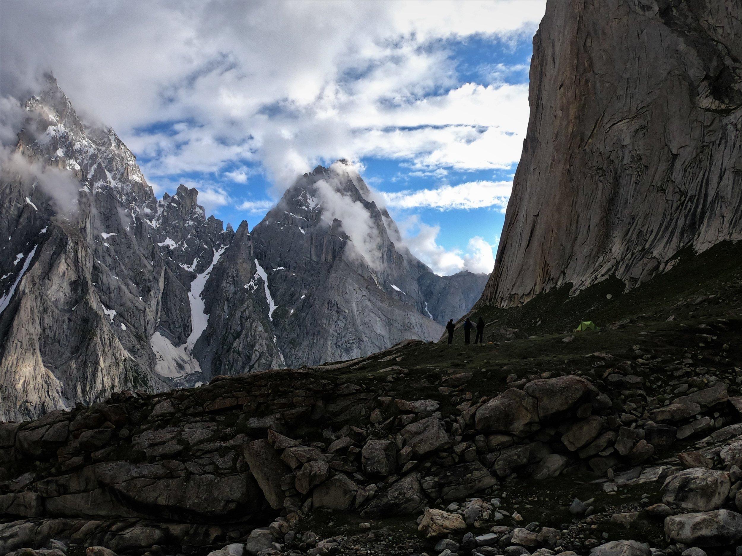 Nangma valley a Rock paradise.