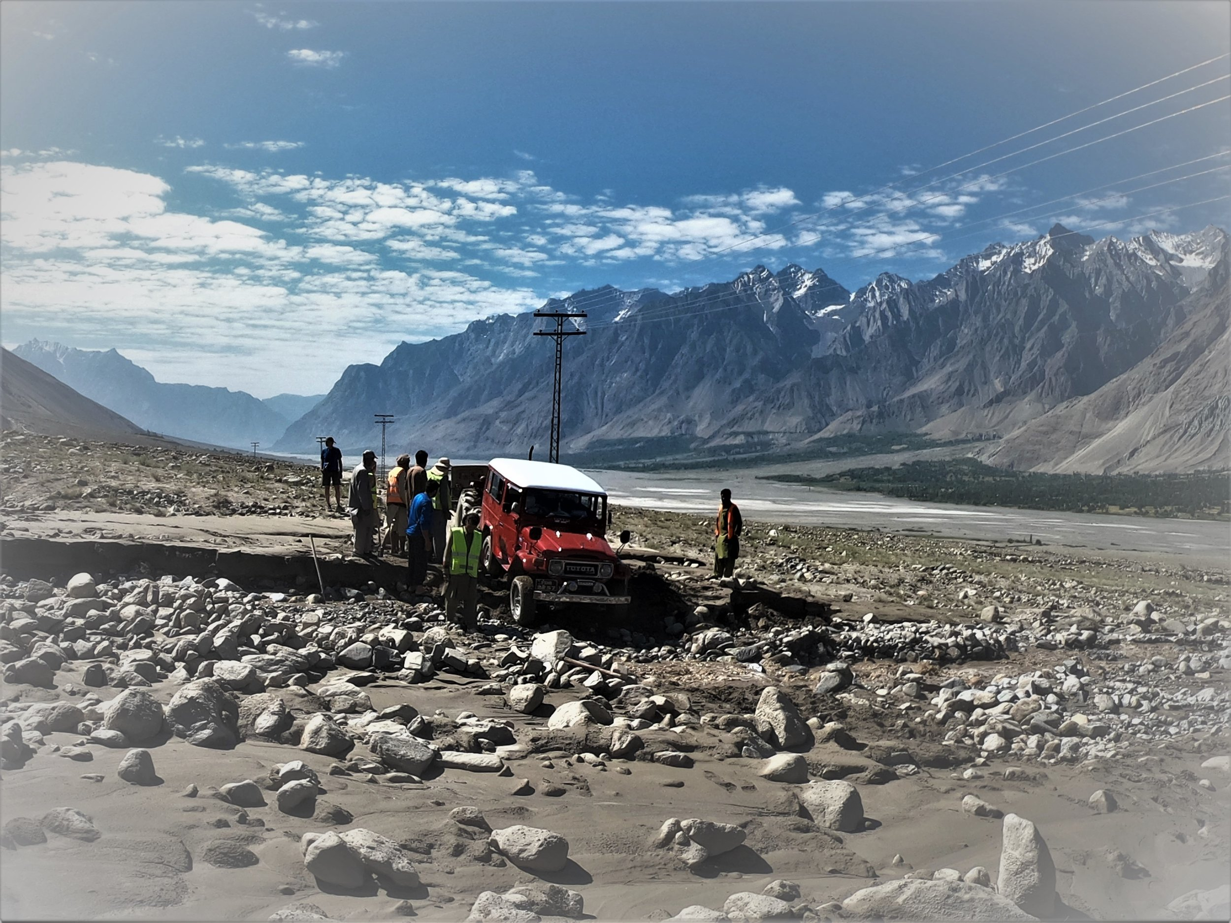 The drive from Islamabad to Skardu - and than to Askoli is a mission in itself.