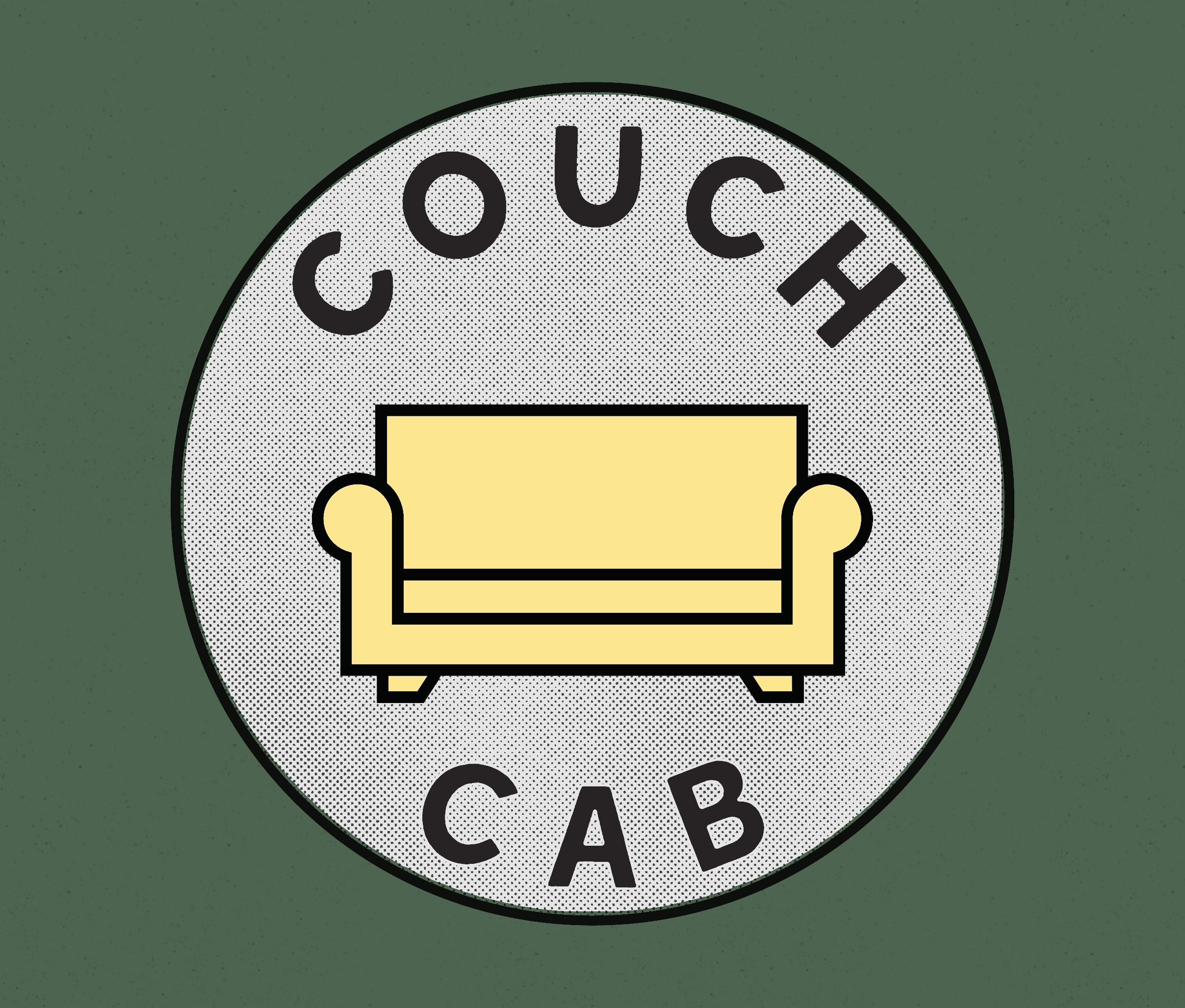 New badge for Couch Cab — ALEX-CONOVER COM