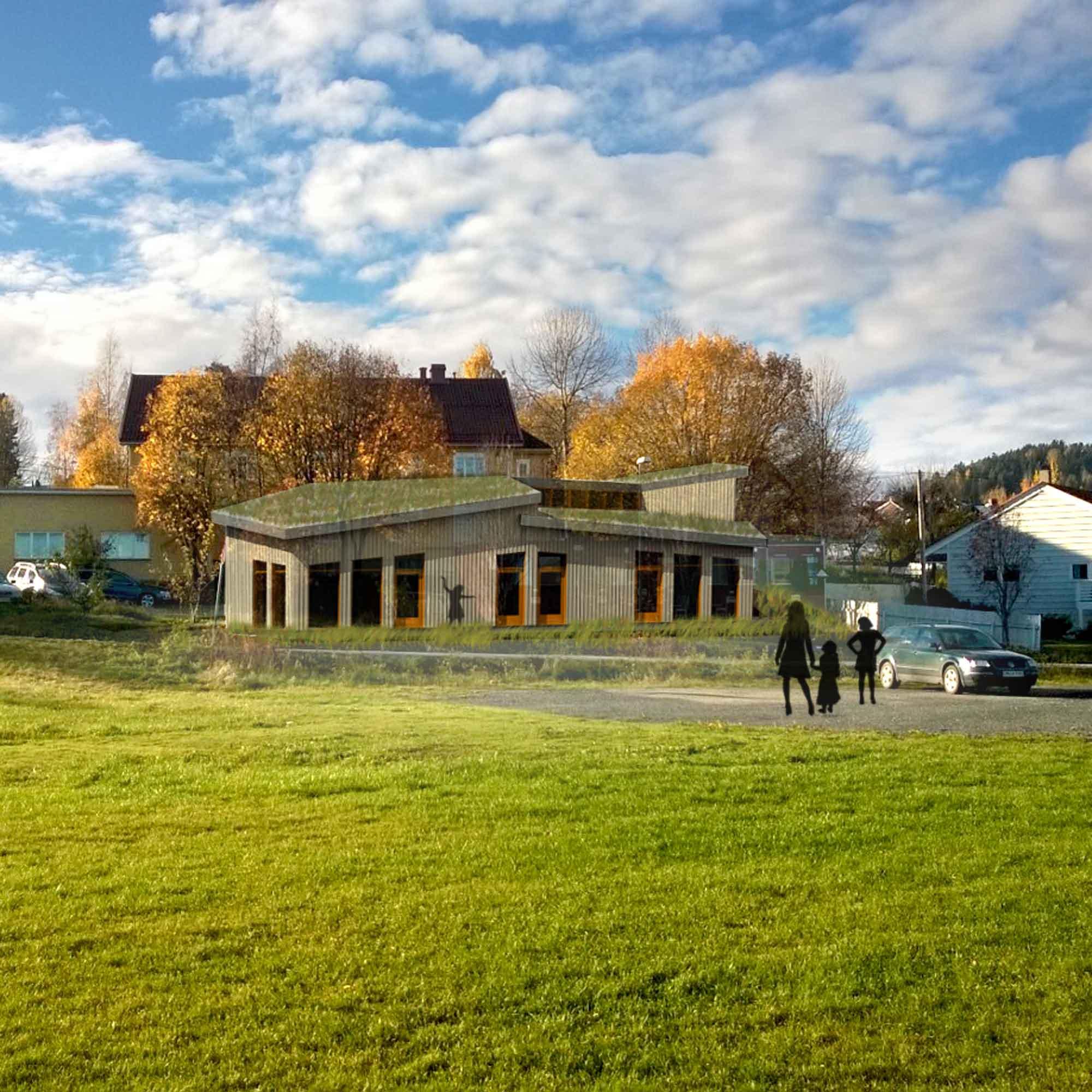 Steinerskolen Gjøvik-Toten - Nytt ungdomstrinn ferdigstillt 2017