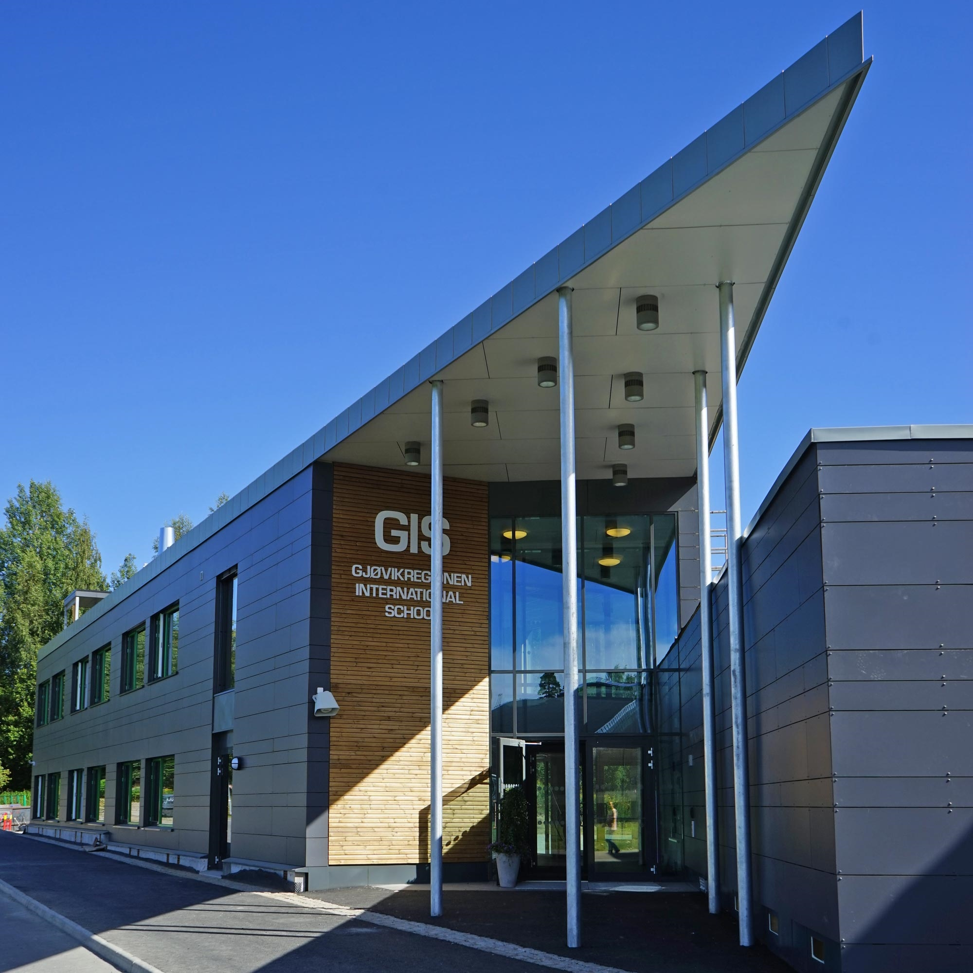 Gjøvikregionen International School - Nybygg ferdigstillt 2017