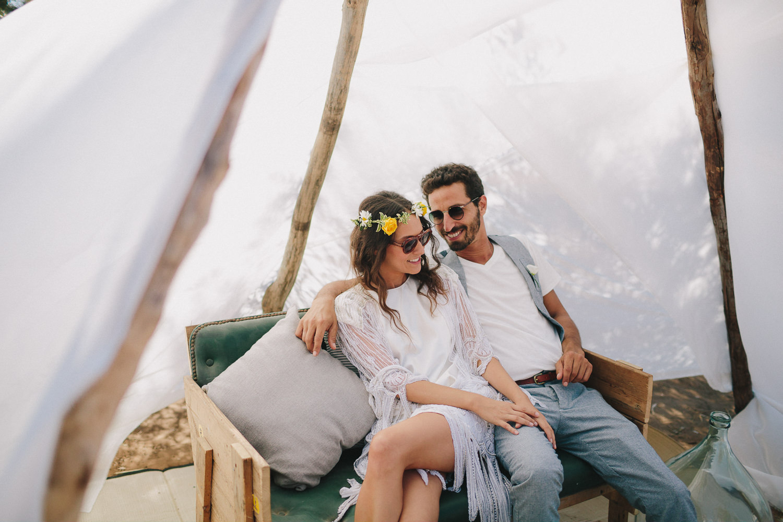 EMMA & OFER | LOVE FESTIVAL WEDDING