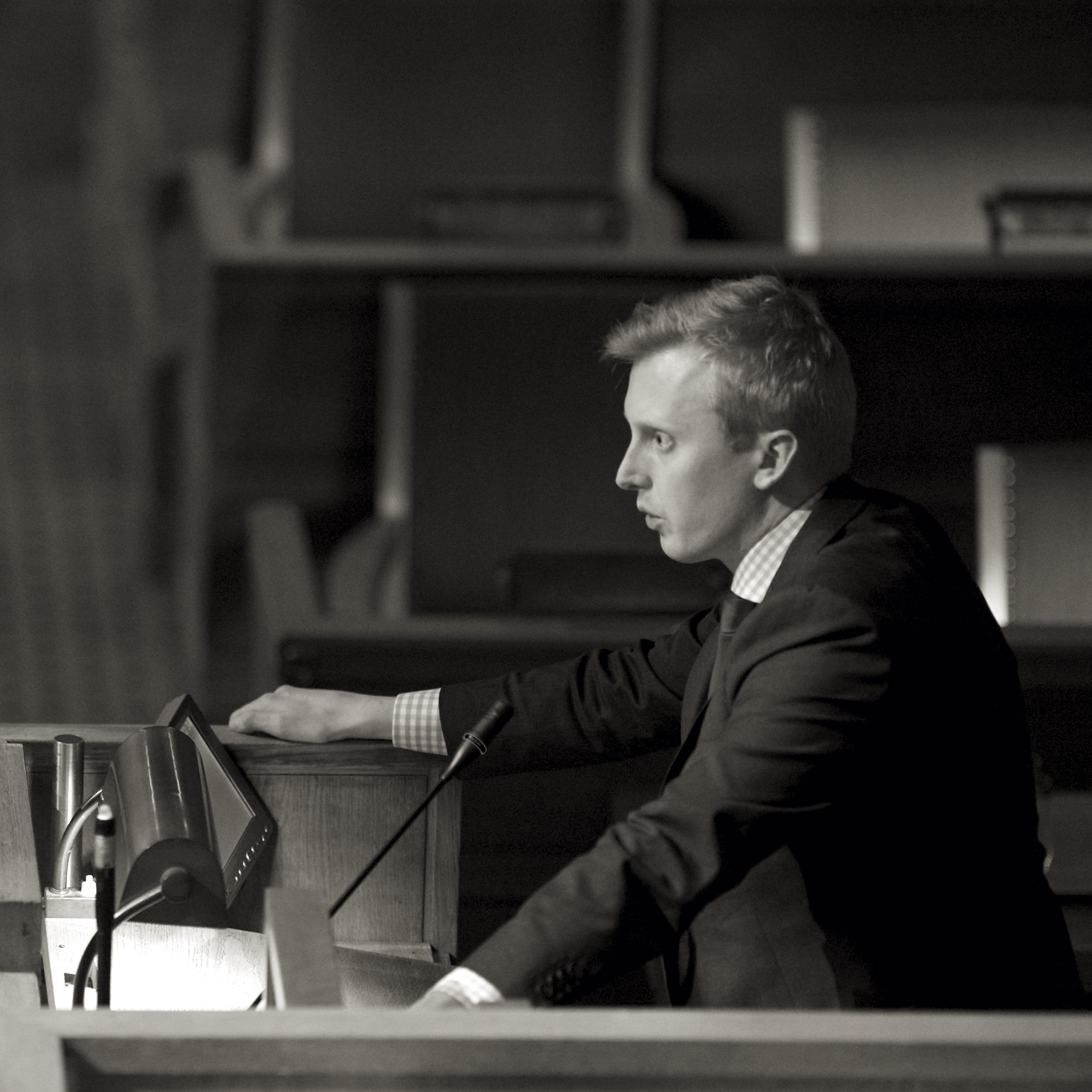 """""""OSLO ER DEN NATURLIGE PLASSERINGEN FOR ET FOTOGRAFIETS HUS"""" Øystein R. Sundelin (H)  ©CF-Wesenberg"""