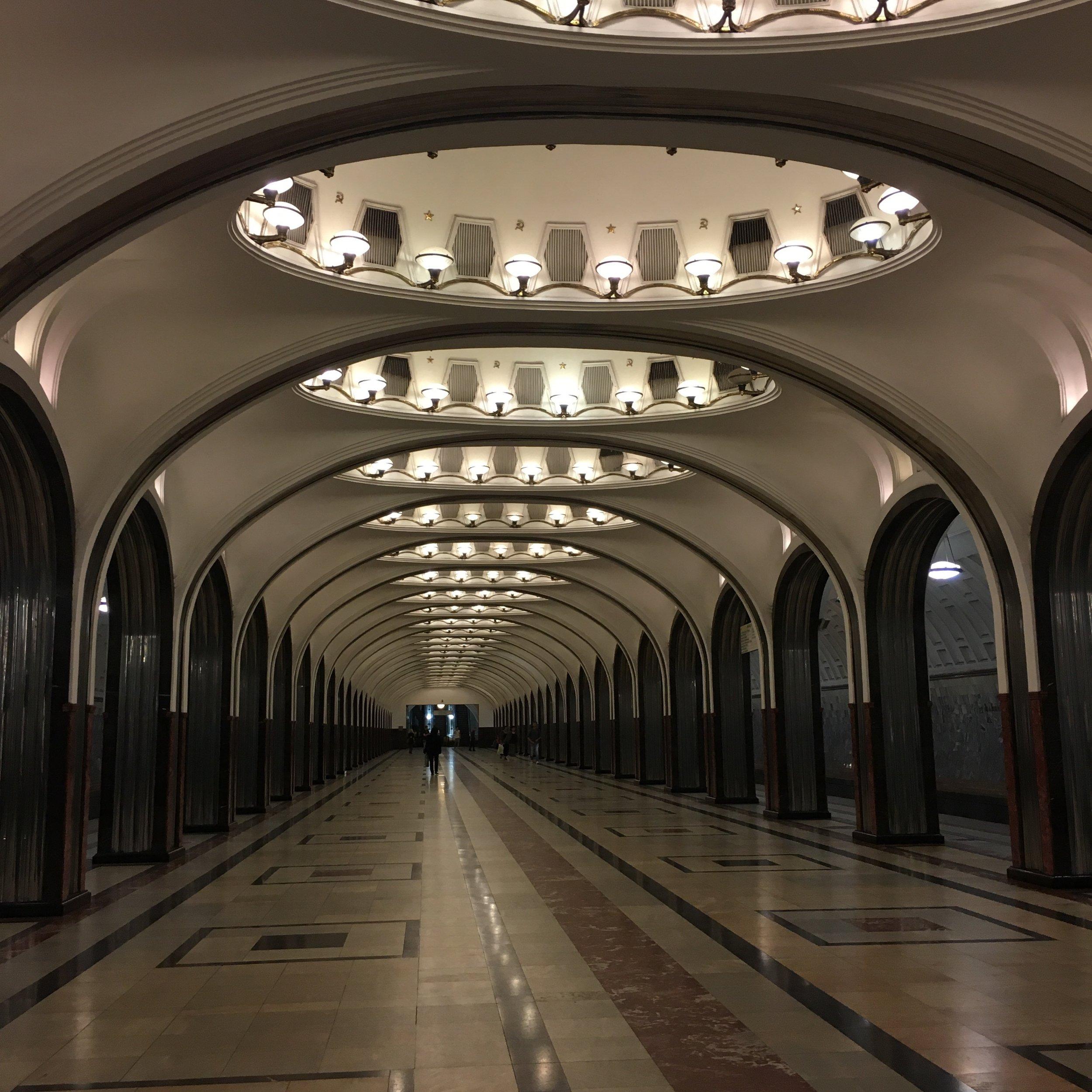 #MoscowMetro