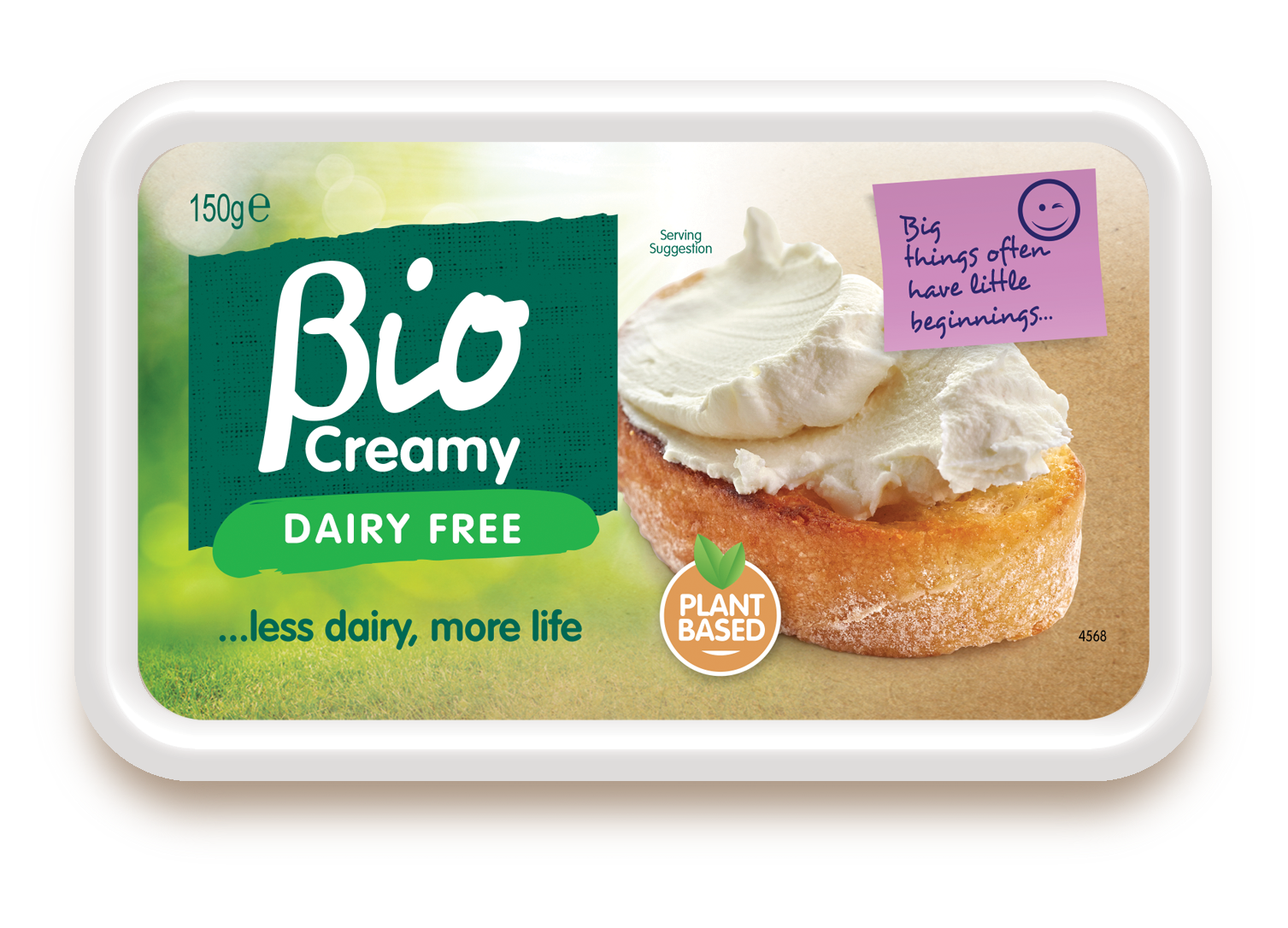 bio creamy vegan cream cheese