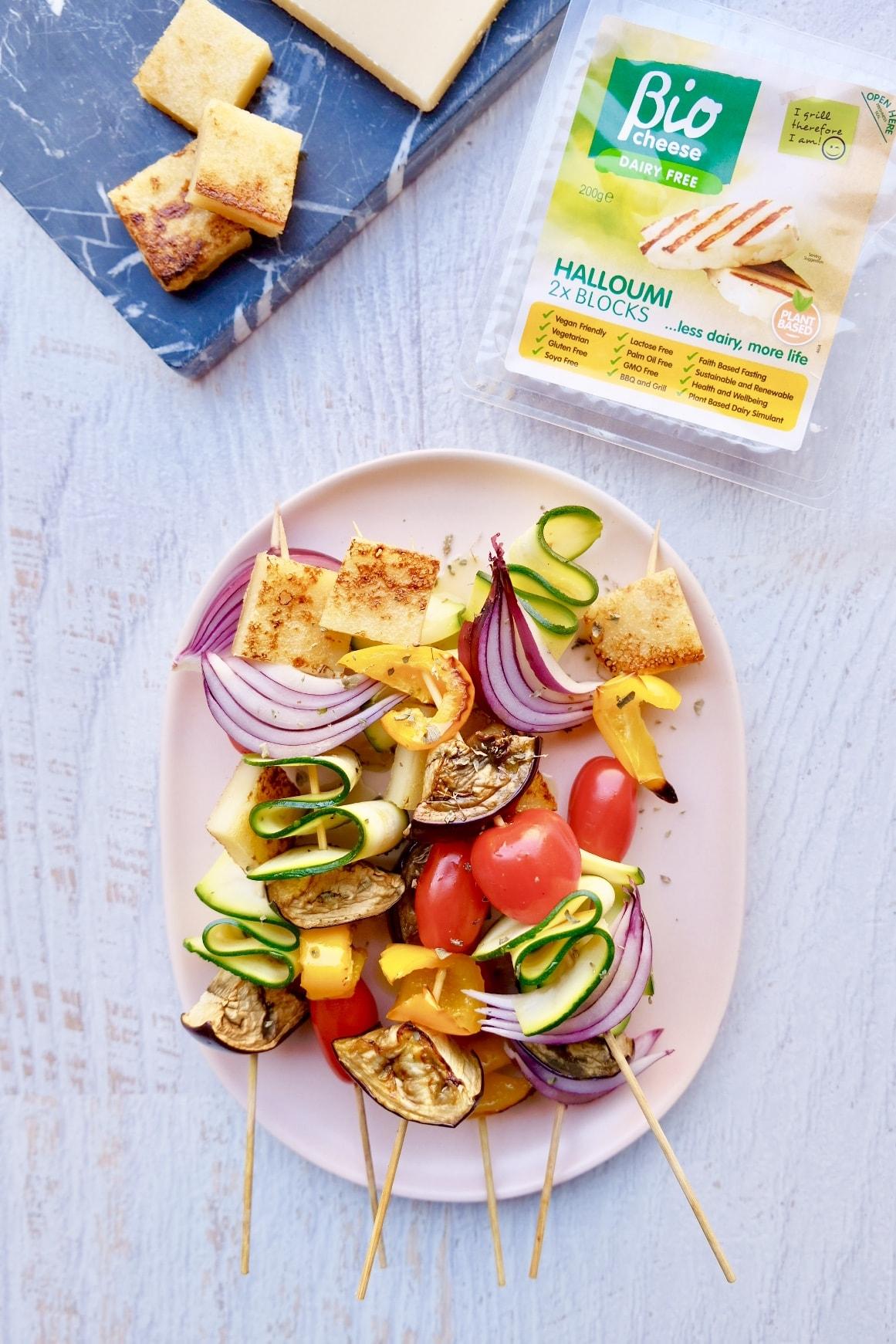 bio cheese plant based halloumi