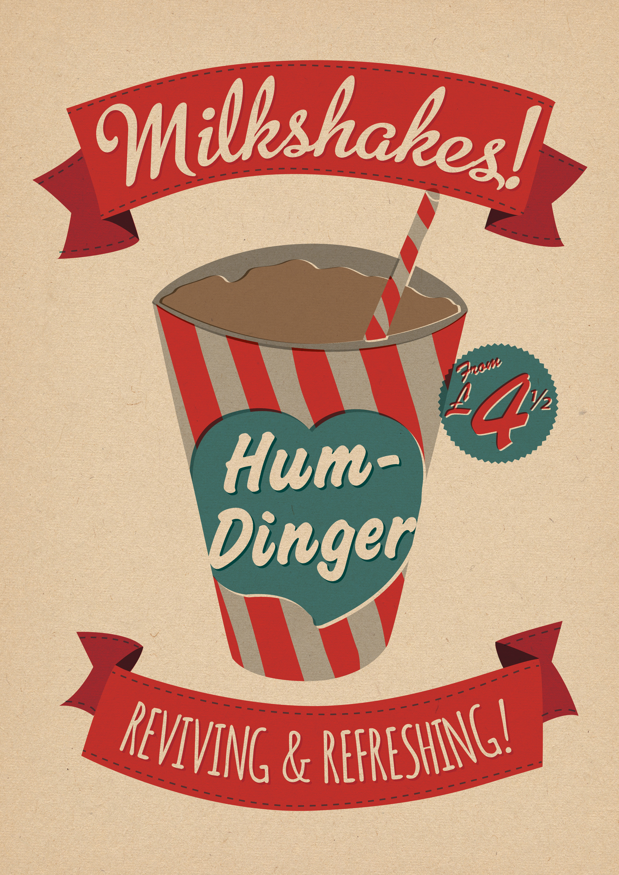 FEATURED DRINKS POSTER