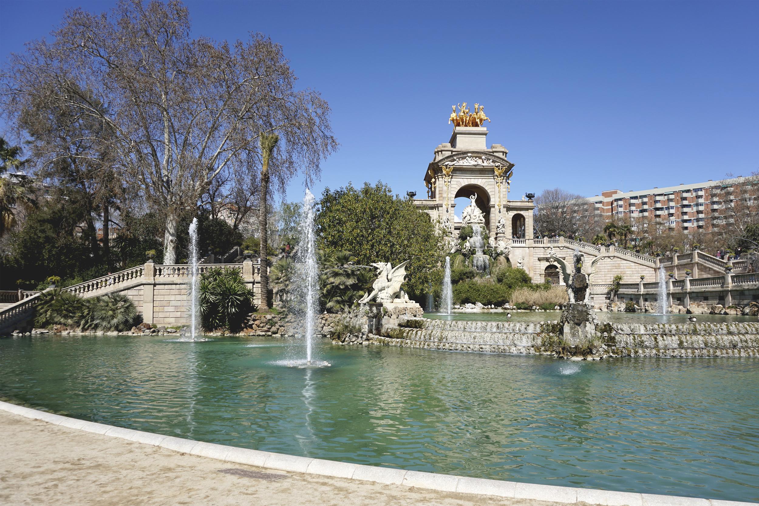 Cascada Monumental, Parc de la Ciutadella, Barcelona, Spain