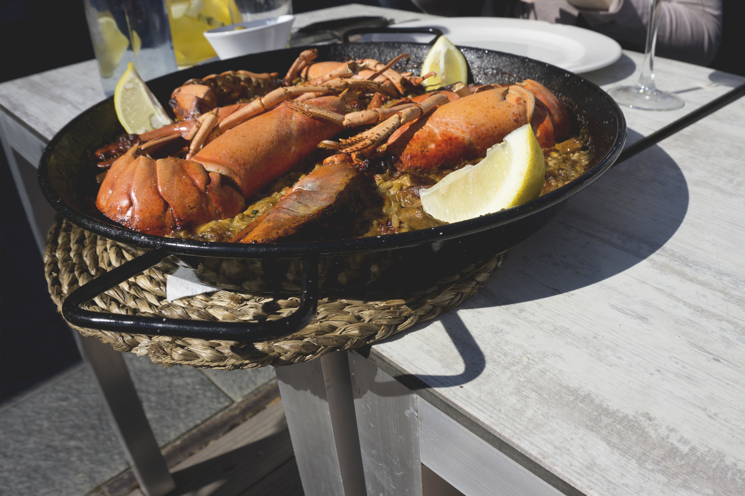 Lobster Paella, Barcelona, Spain