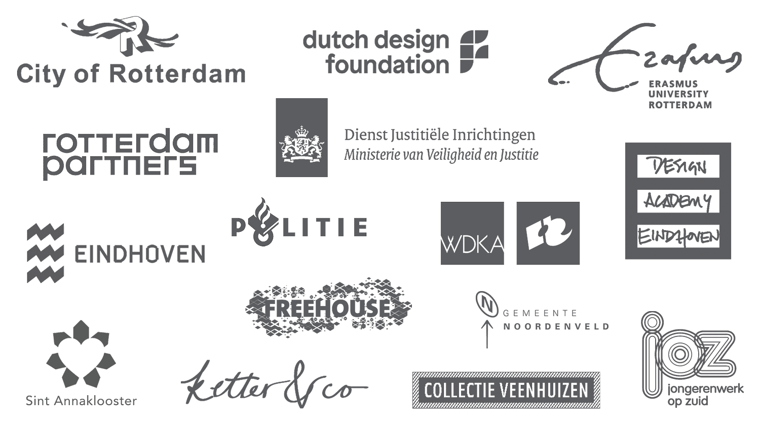 Selection of recent clients and partners.