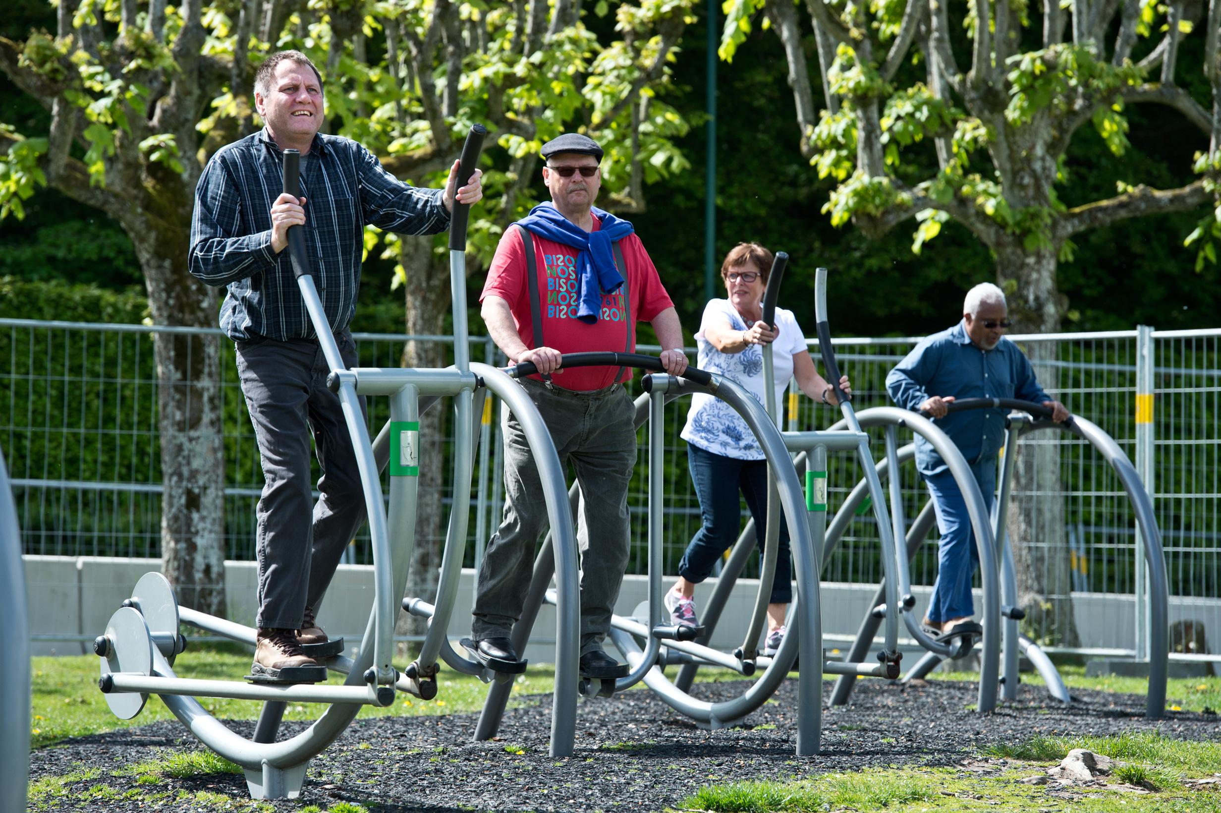 Mindeparken Fitness i det fri