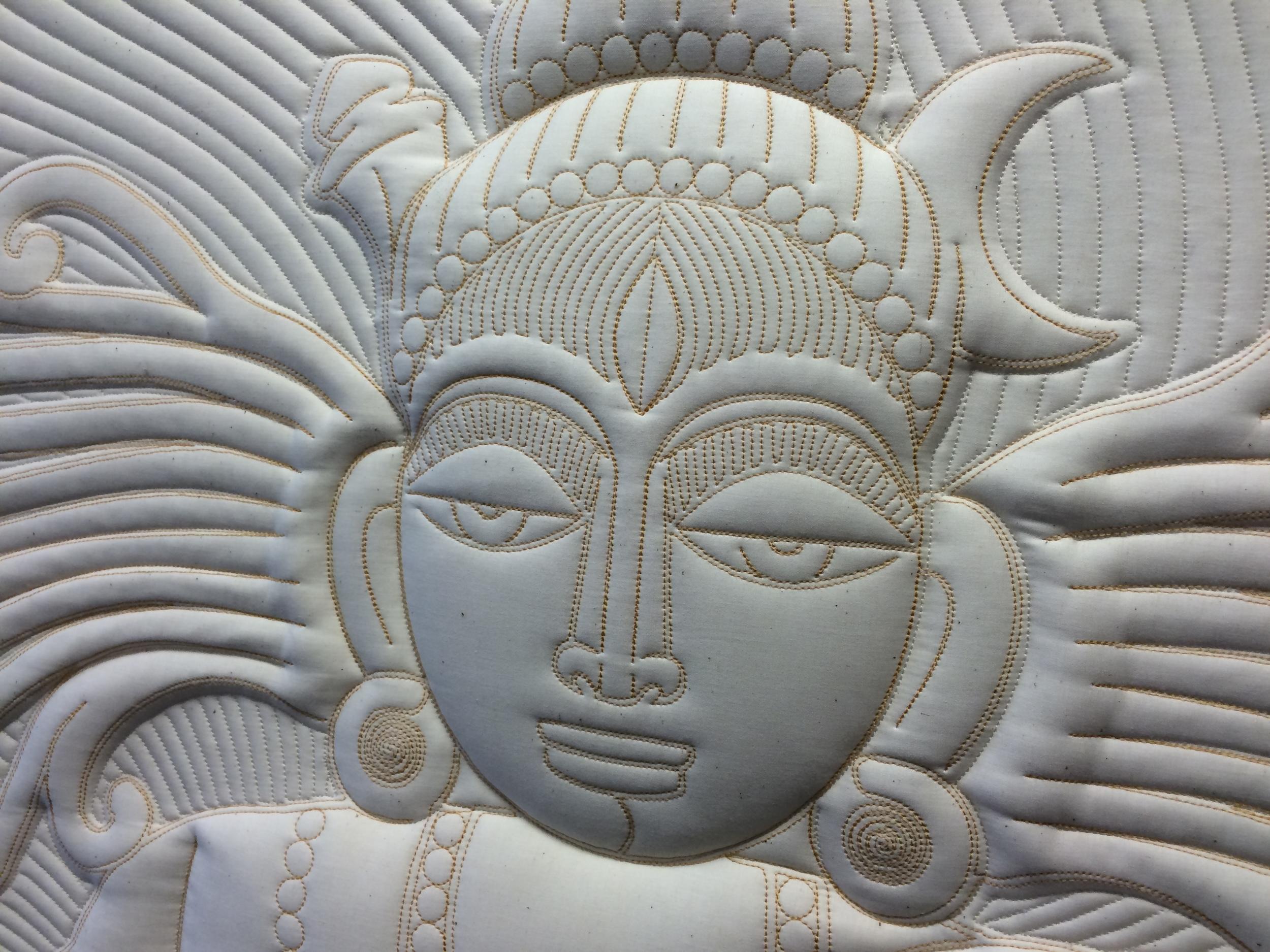 Shiva Fiber Art