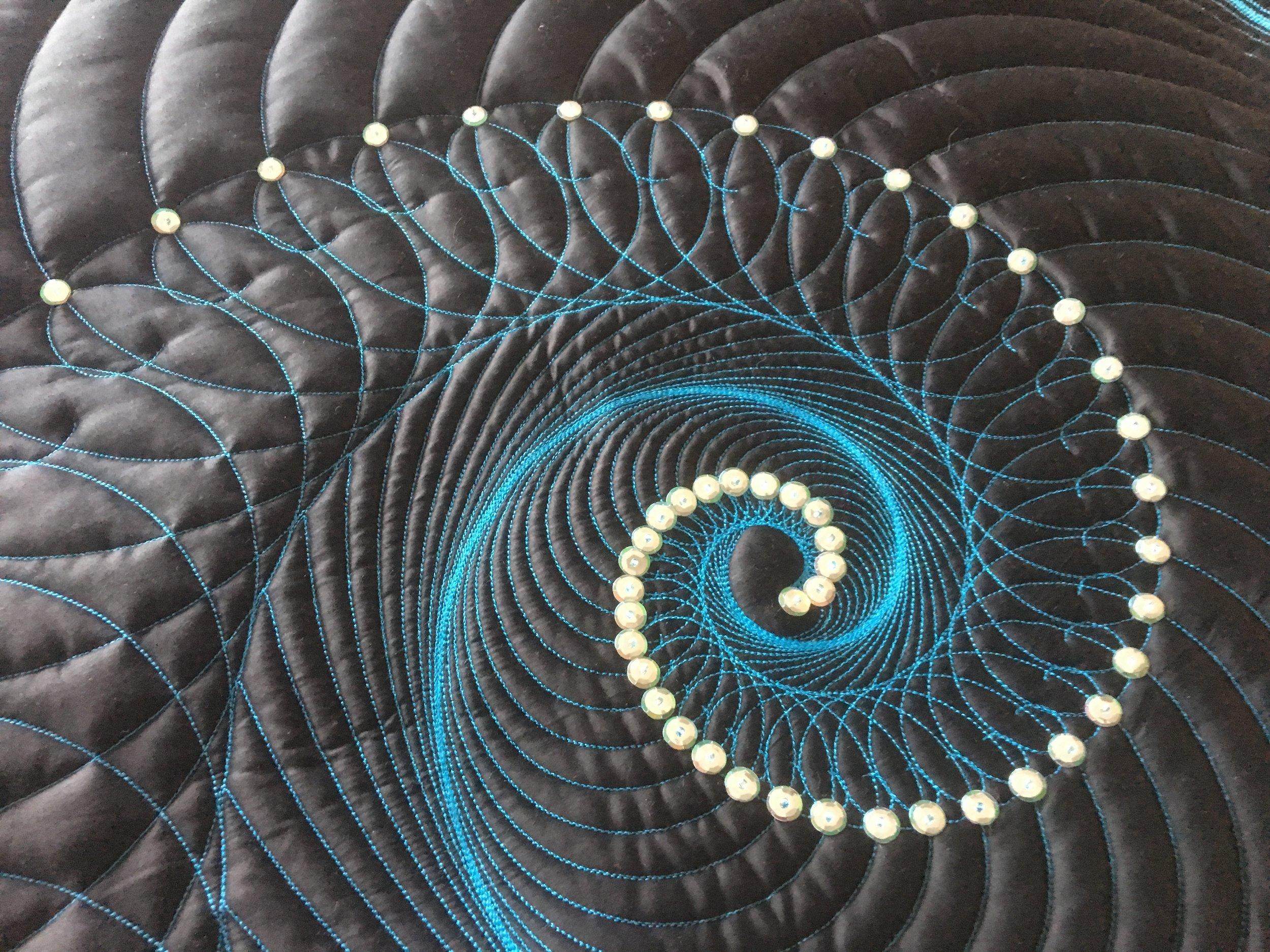 Fibonacci Sequins