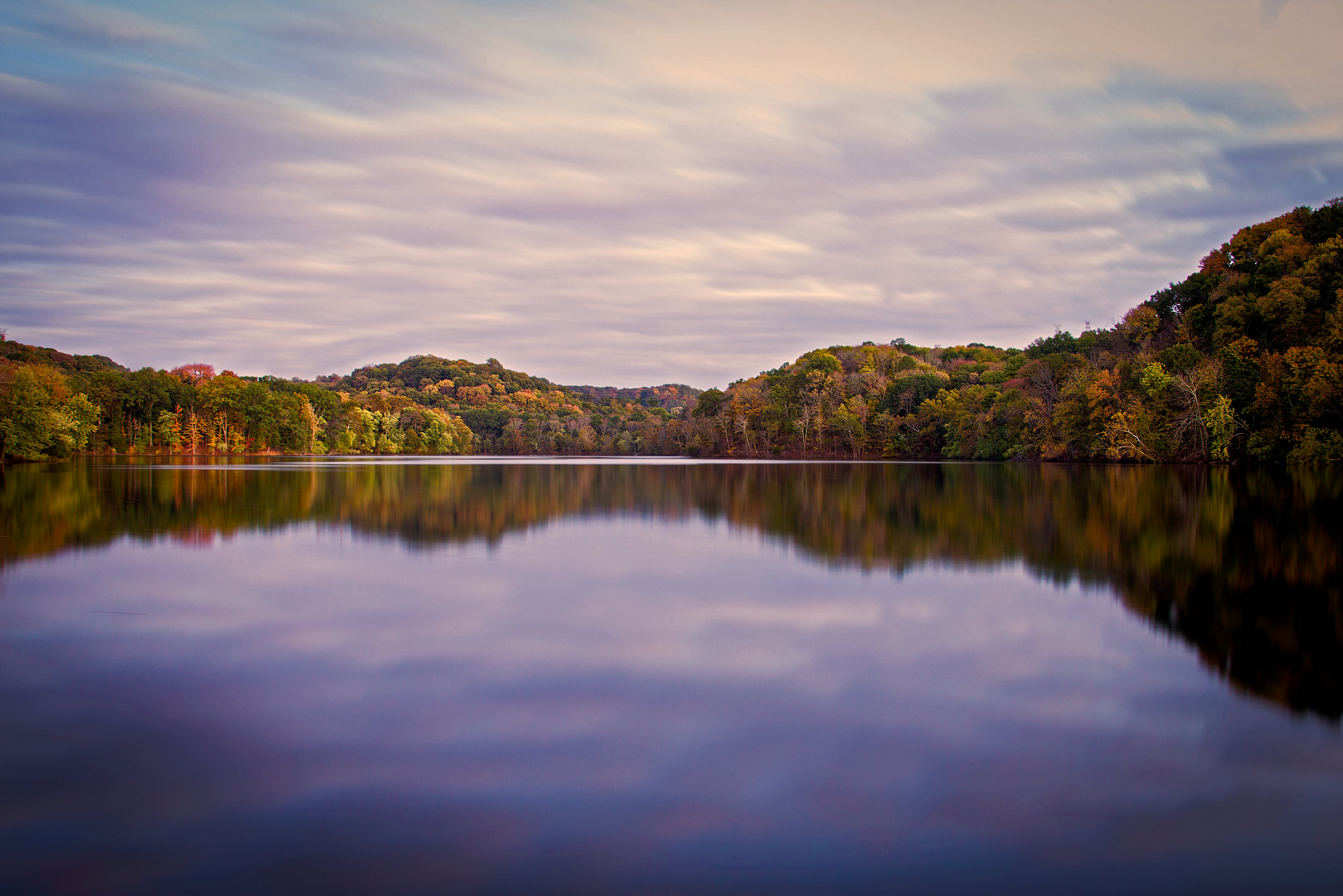 Radnor Lake at Blue Hour
