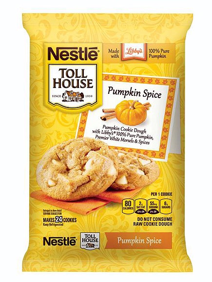 6. Cookie dough and pumpkin spice are probably my two favorite combinations of words that exist. And here they are combined!!!