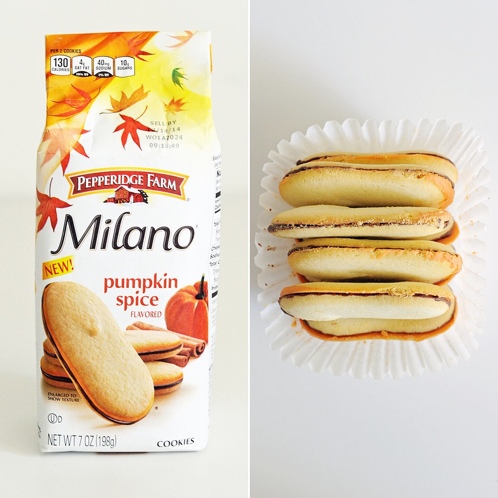 4. Milano cookies were something I forgot I was absolutely obsessed with. Pumpkin spice just has a way of relighting old flames I guess.