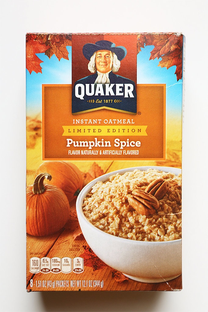 1. Anyone who knows me knows I'm an oatmeal addict and do not to a day without it. Pumpkin spice oatmeal wins as the top product I wish I could try this pumpkin spice season (oops, I mean fall?) but perhaps it's better that I don't have it at my disposal to become addicted then deal with withdrawal as soon as the cheerful season comes to a close.