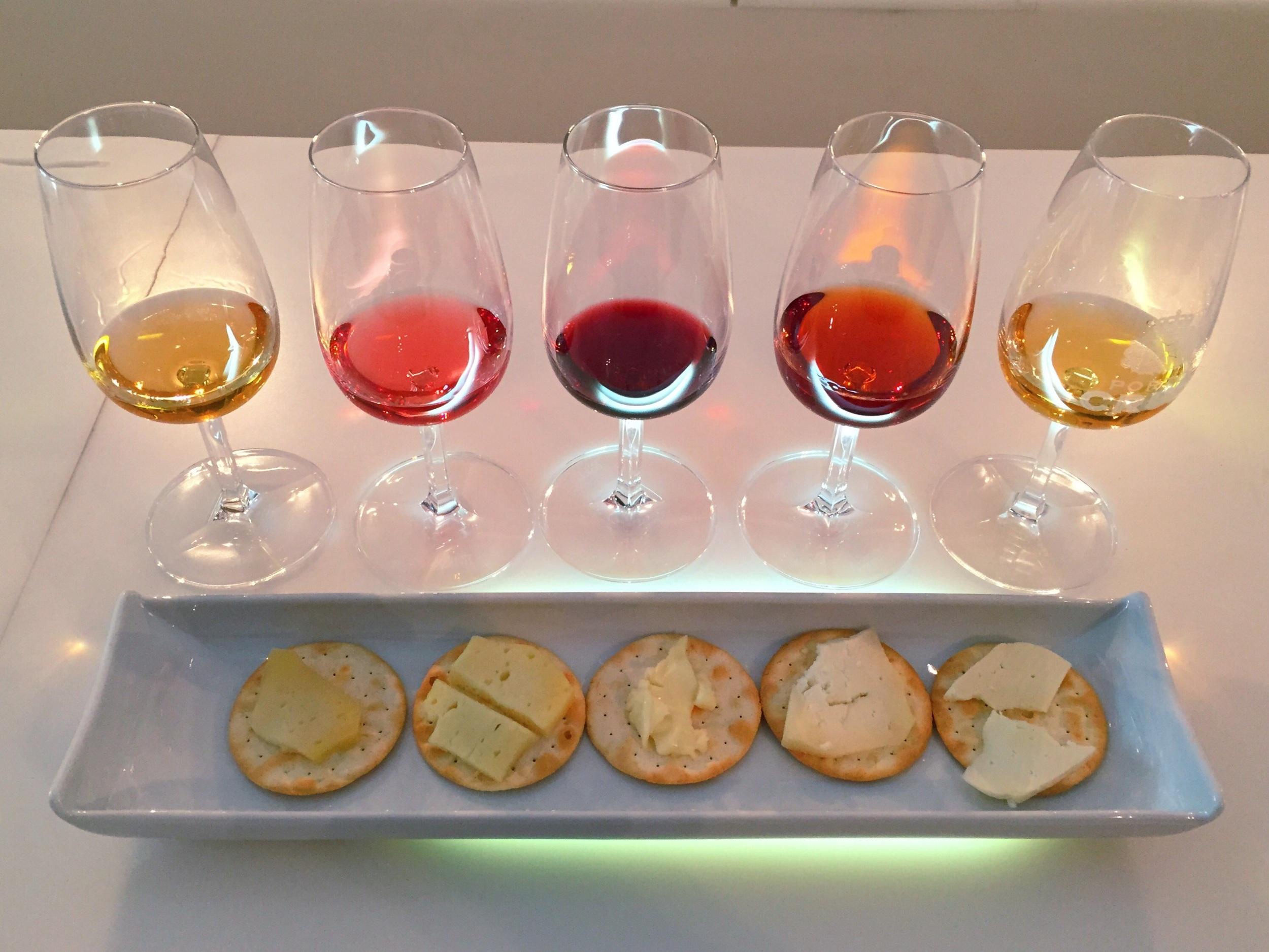 Port wine tasting!