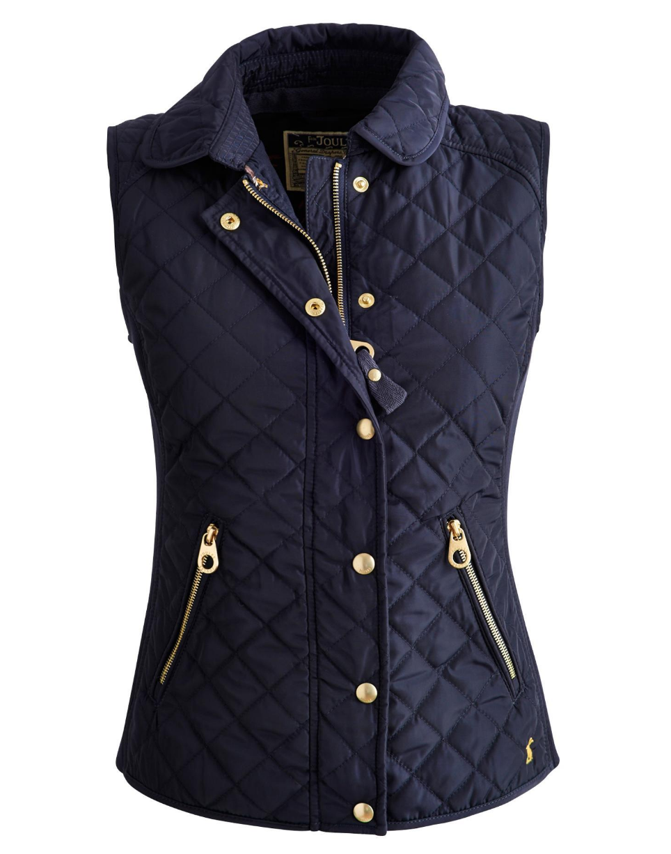 Vests are a necessity whether you ride or you don't. For riders, it's a great layer to keep us just a little warmer on those chilly days while maintaining our riding style. This  Braemar Quilted Vest  by Joules features gold hardware to make it a little dressier so it can be worn in the barn and elsewhere.