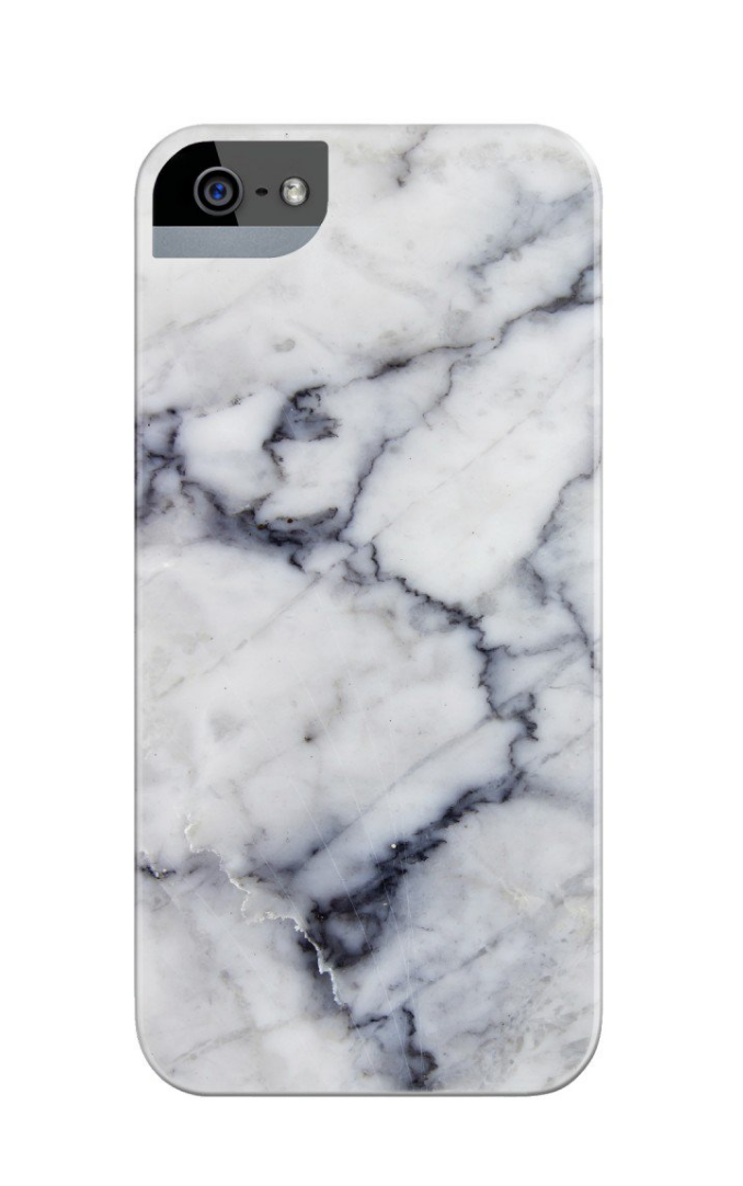 You never have to worry about your phone clashing with your outfit when you have a  White Marble Phone Case . It's so stylish and looks perfect next to just about anything.
