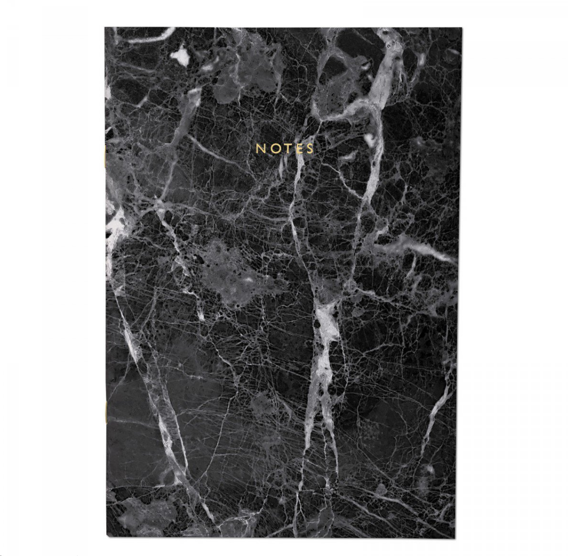 This  Black Marble Notebook makes note-taking so much more stylish and fun. It looks like a chunk of high-end countertop that you can carry around anywhere with you.