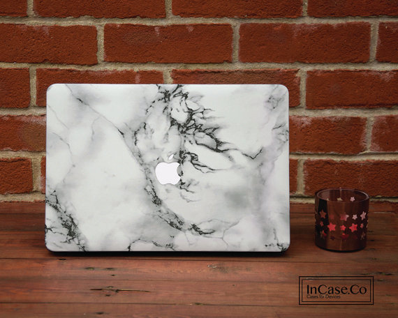 I already own a  White Marble Macbook Case , and it was perhaps the best purchase I've ever made. It's so stylish and no one else at school has anything like it. I get so many compliments on it, and it blends in so nicely with my room that it doesn't even look like a piece of technology!