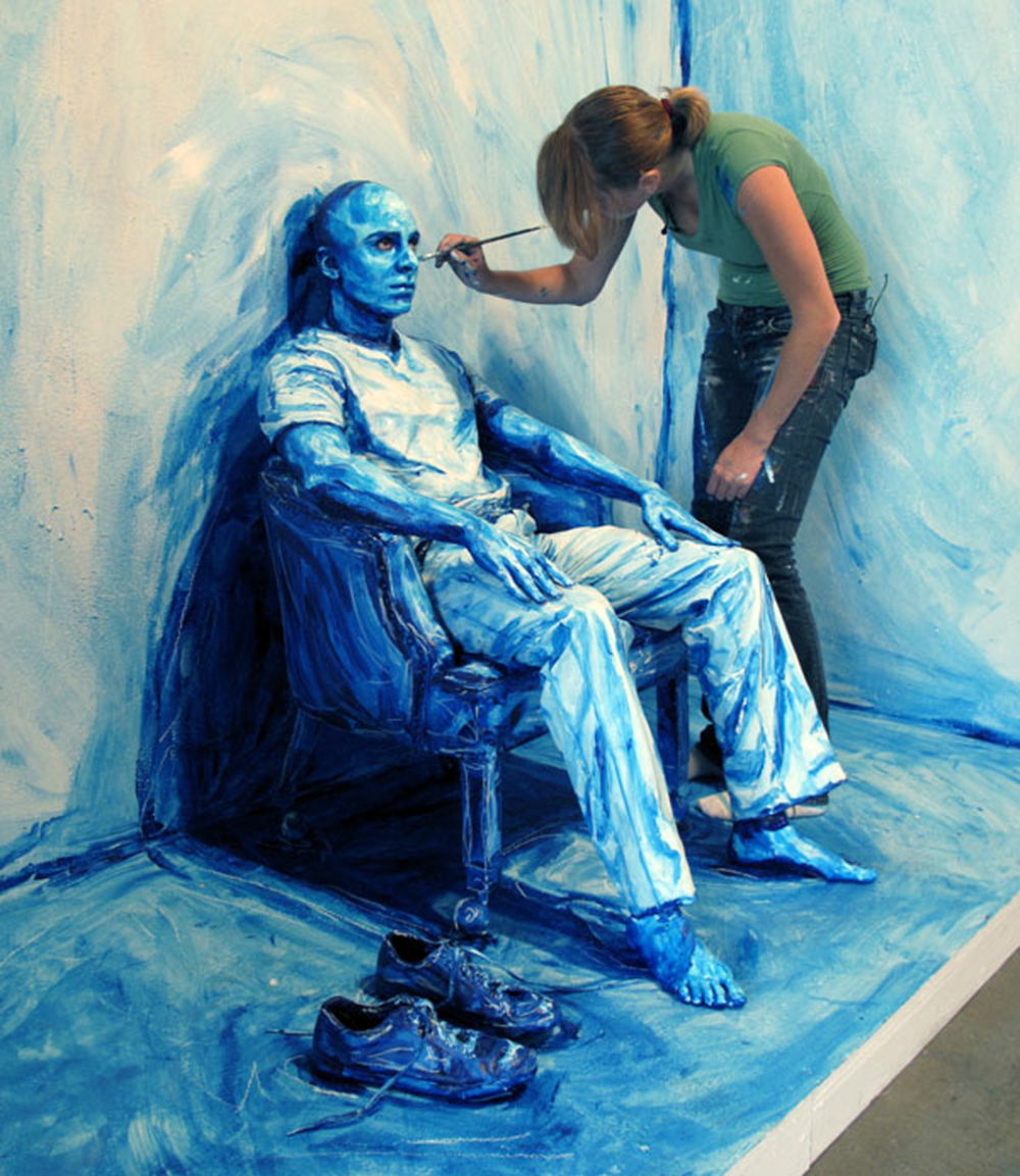 Blue Print Installation, 2010