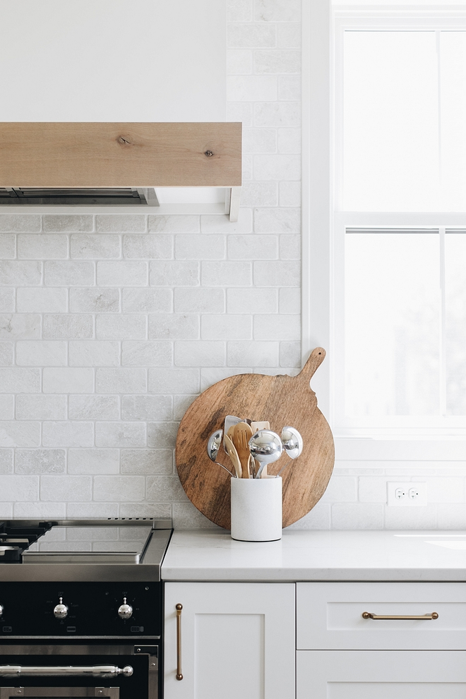Kitchen Cabinet Paint Color:  Simply White by Benjamin Moore.