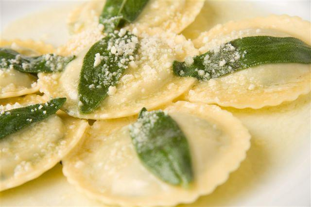 ravioli sage dish modo mio italian