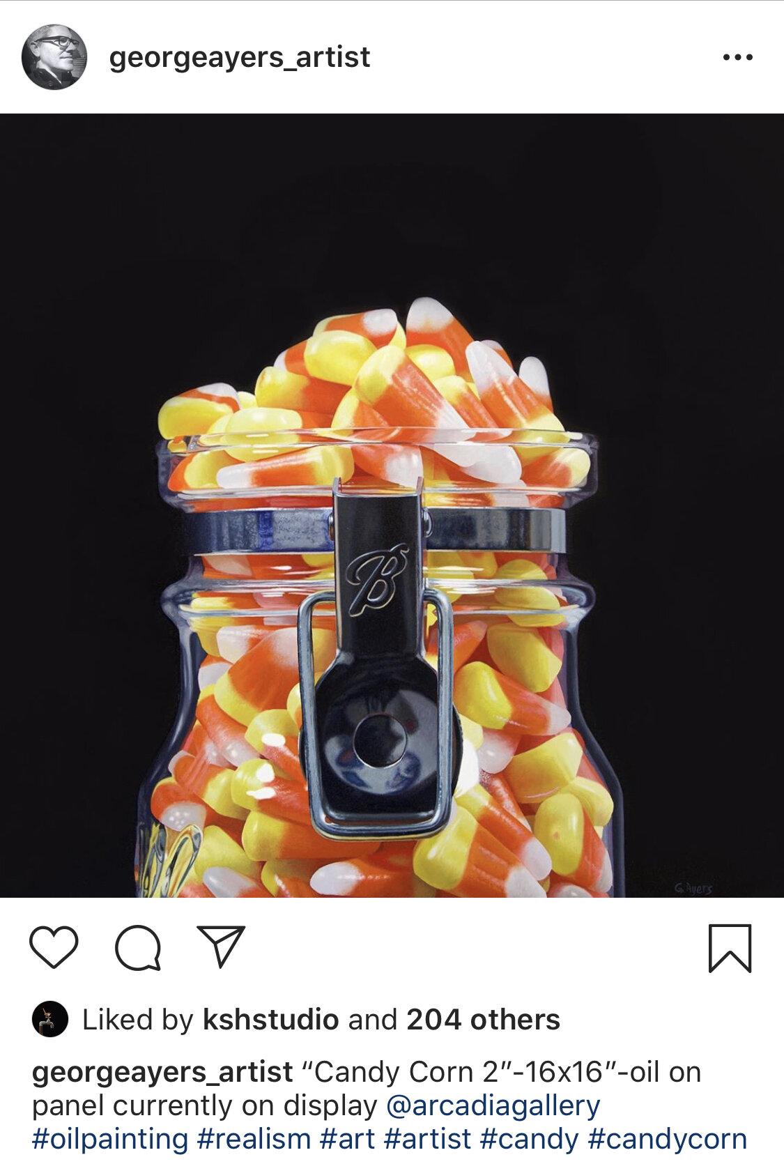 george ayers candy corn