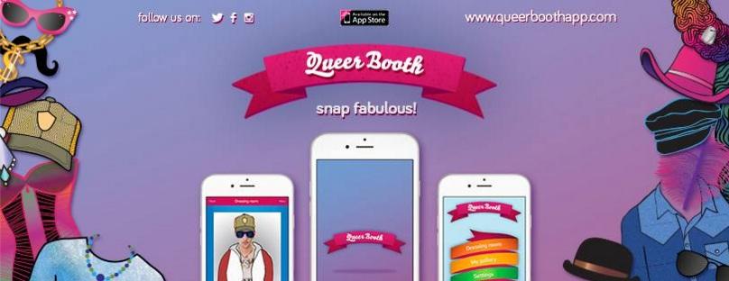 Querbooth app - illustrations