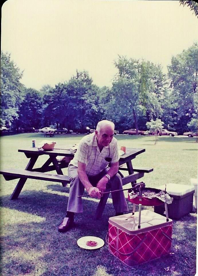 Nagypapa | szalonnasütés | Queenston Heights