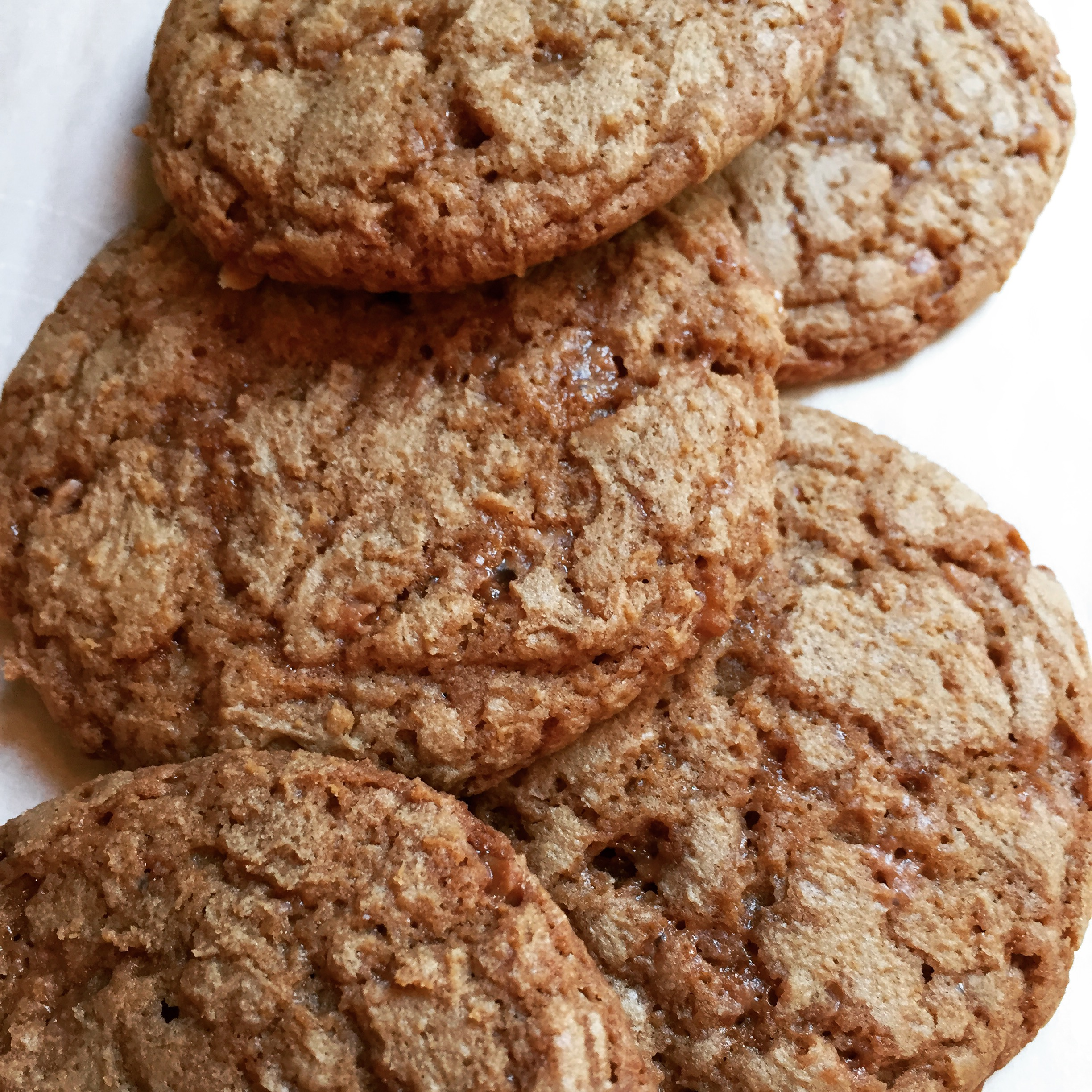 Coffee-Toffee Cookies